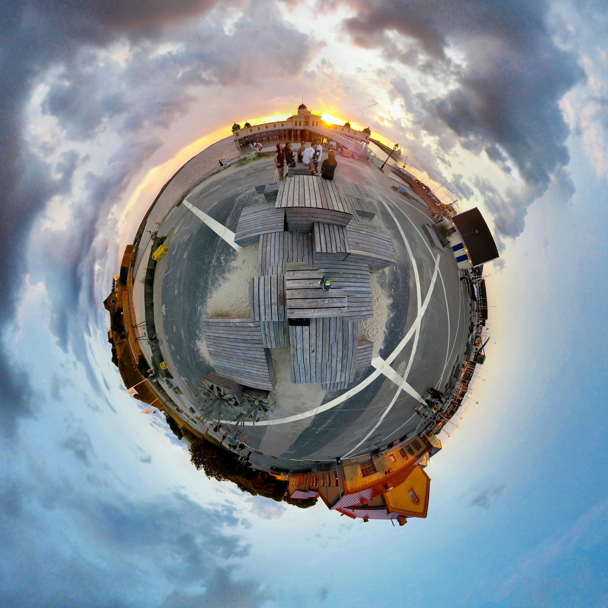 Photosphere of Varberg by Rebecka Tegnander