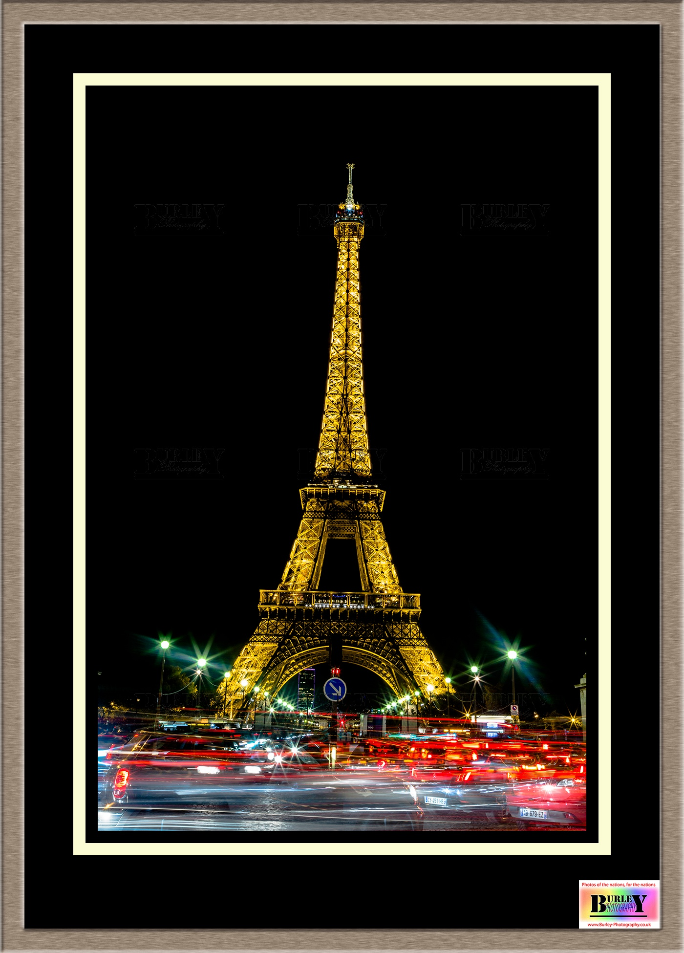 Eiffel Tower at Night by Craig Burley