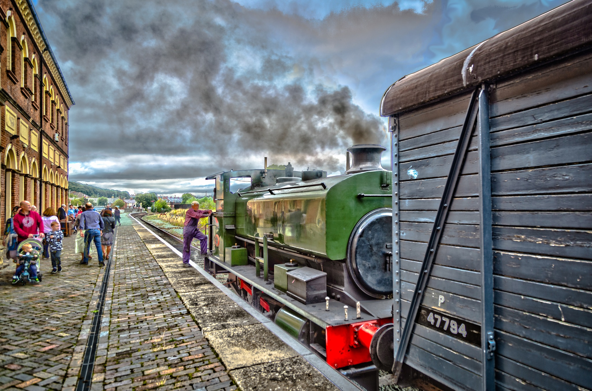 Steaming away by Craig Burley