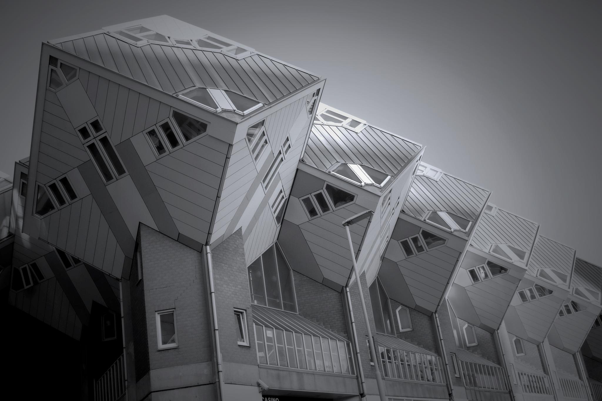 weird buildings by markcauchi