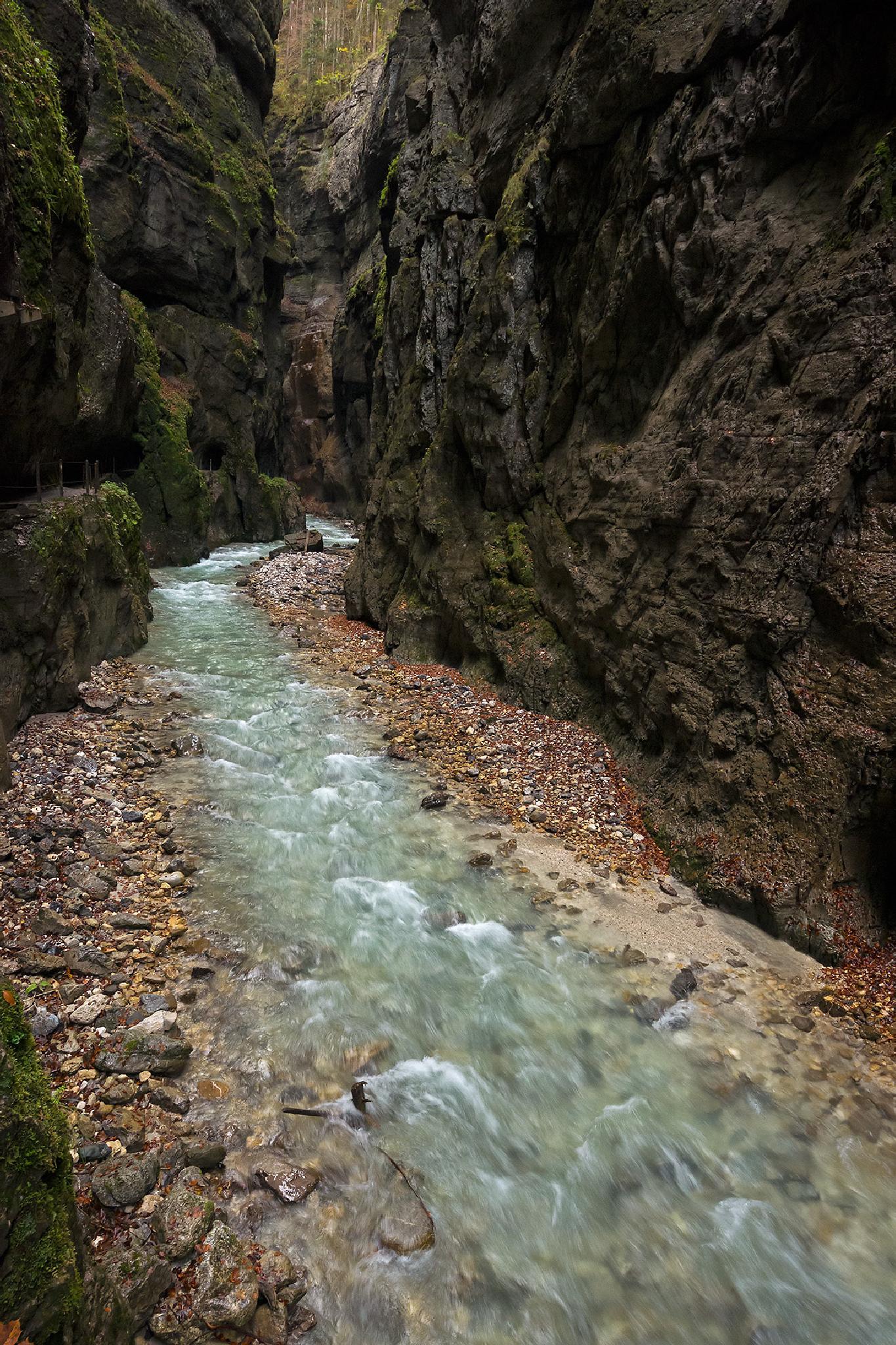 Partnach Gorge by Juergen Mayer