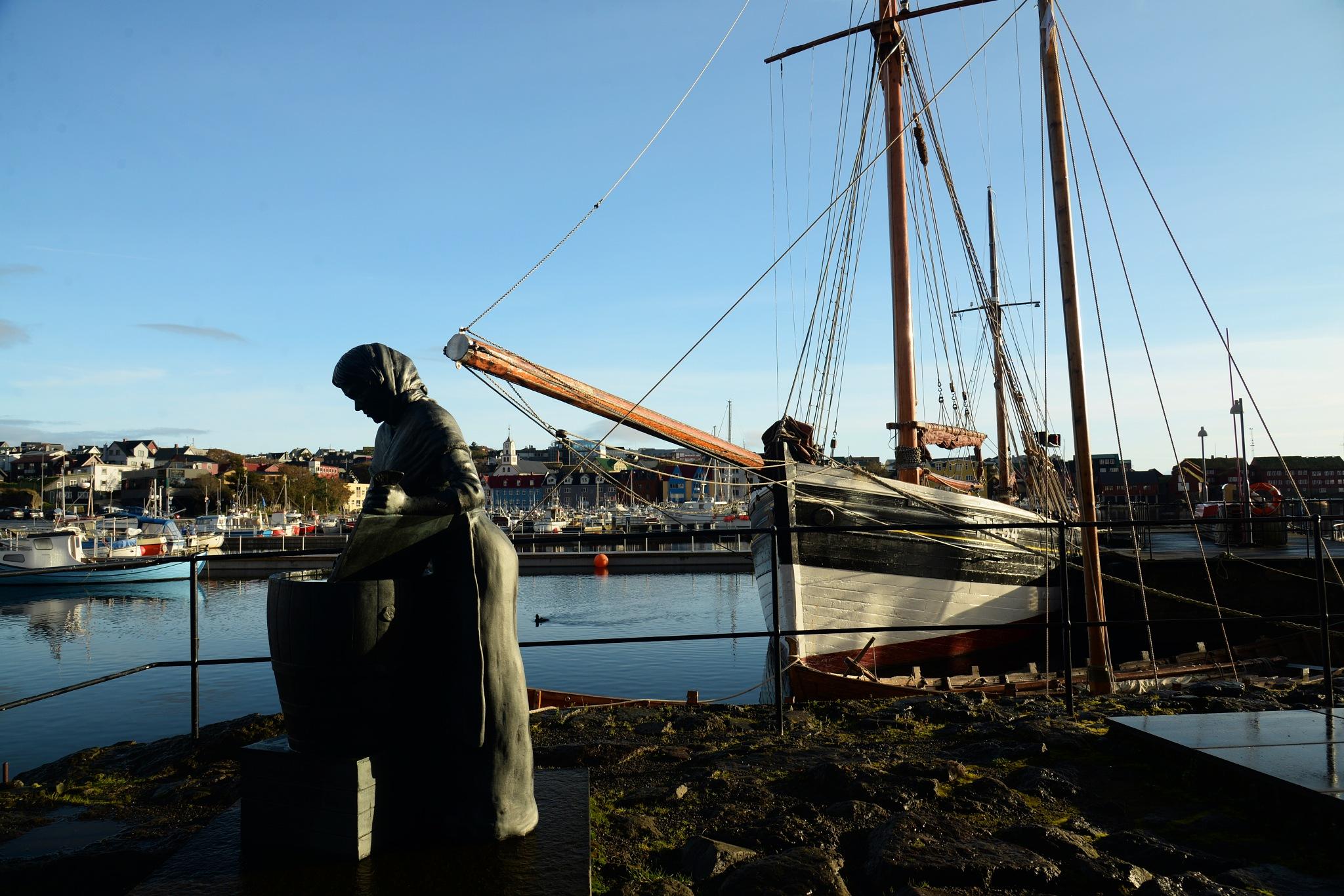 """""""Høgakaj"""" Tórshavn, Faroe Islands by harald bjørgvin"""