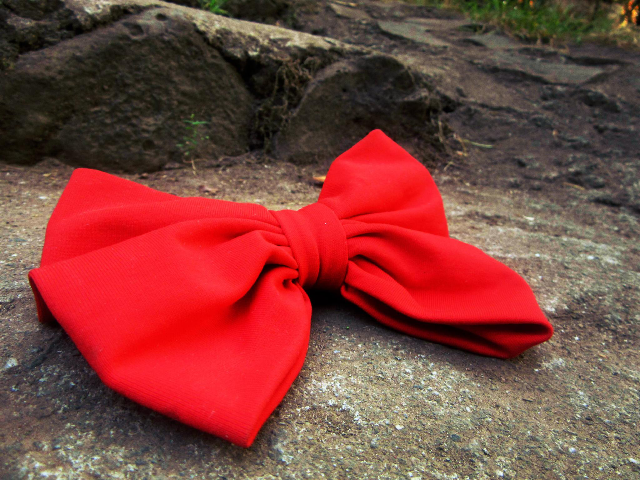 red ribbon by den.evangelista.14