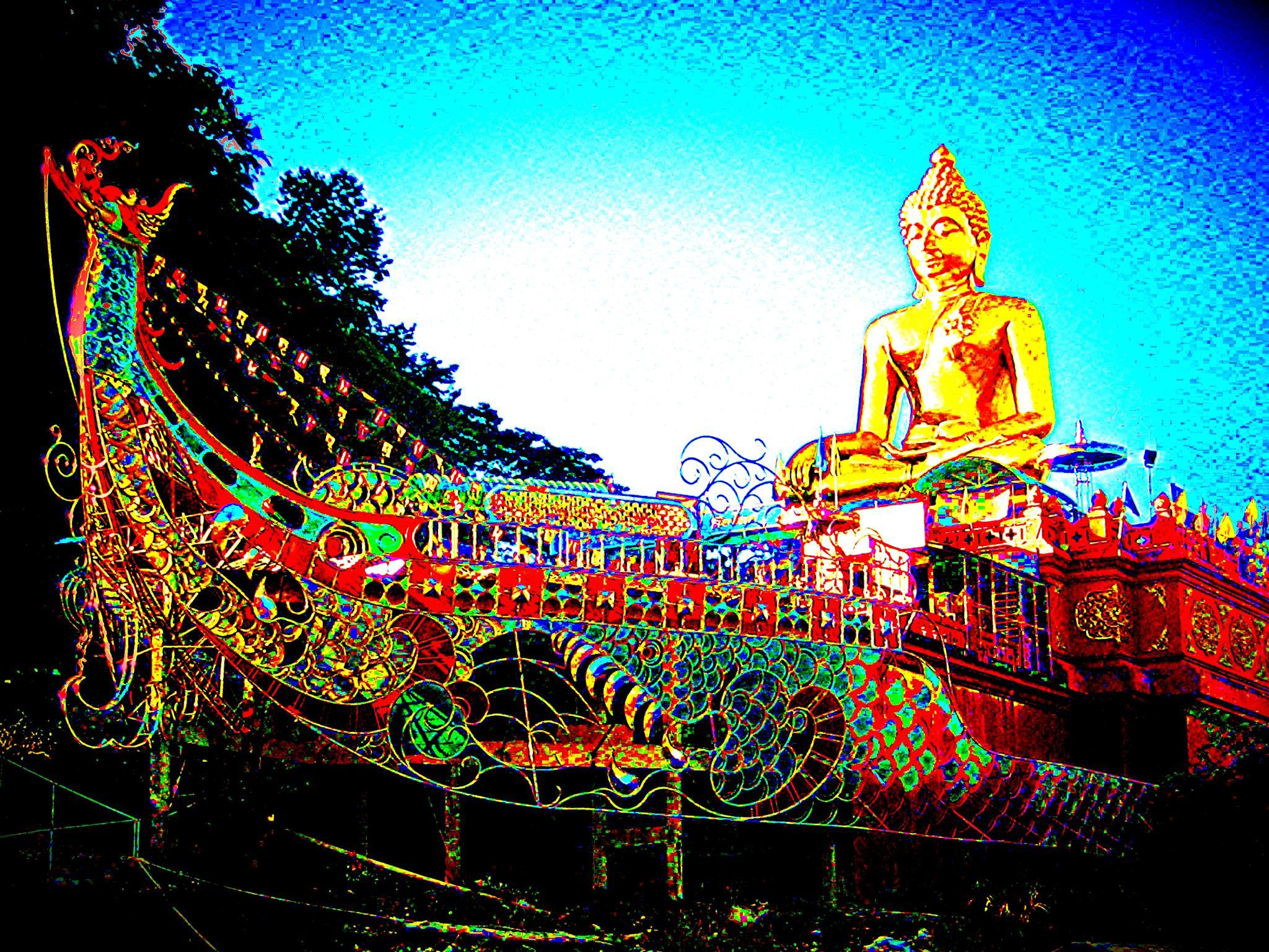 Buddha Ship by ronnie429green