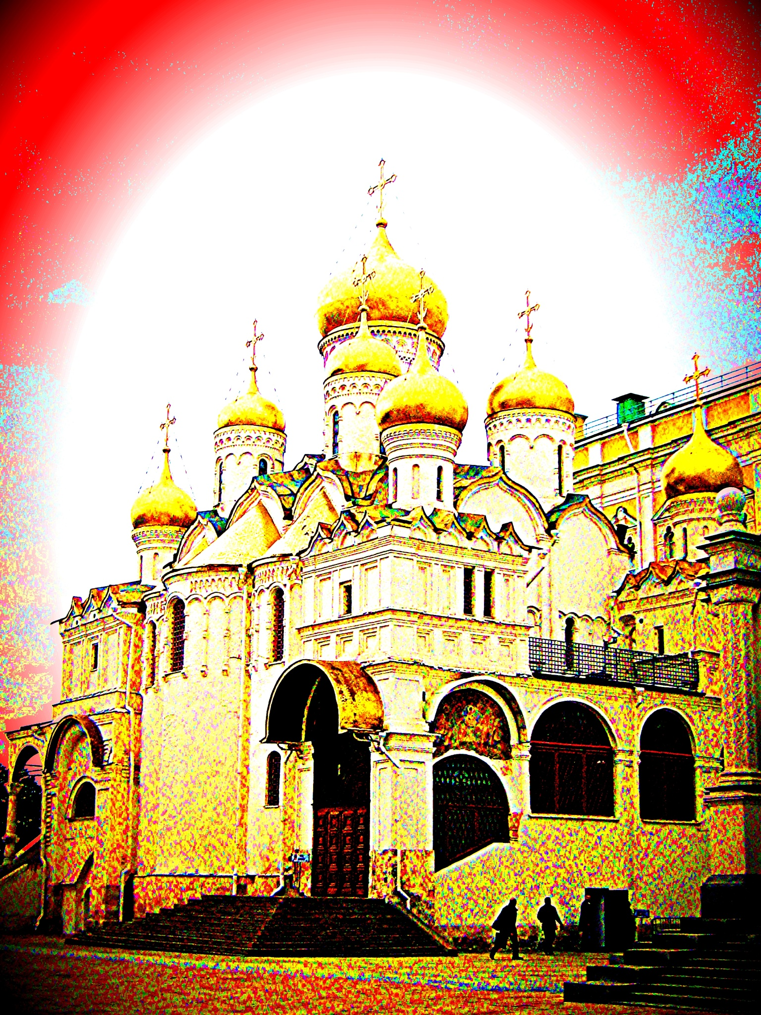 Russian Orthodox Church by ronnie429green