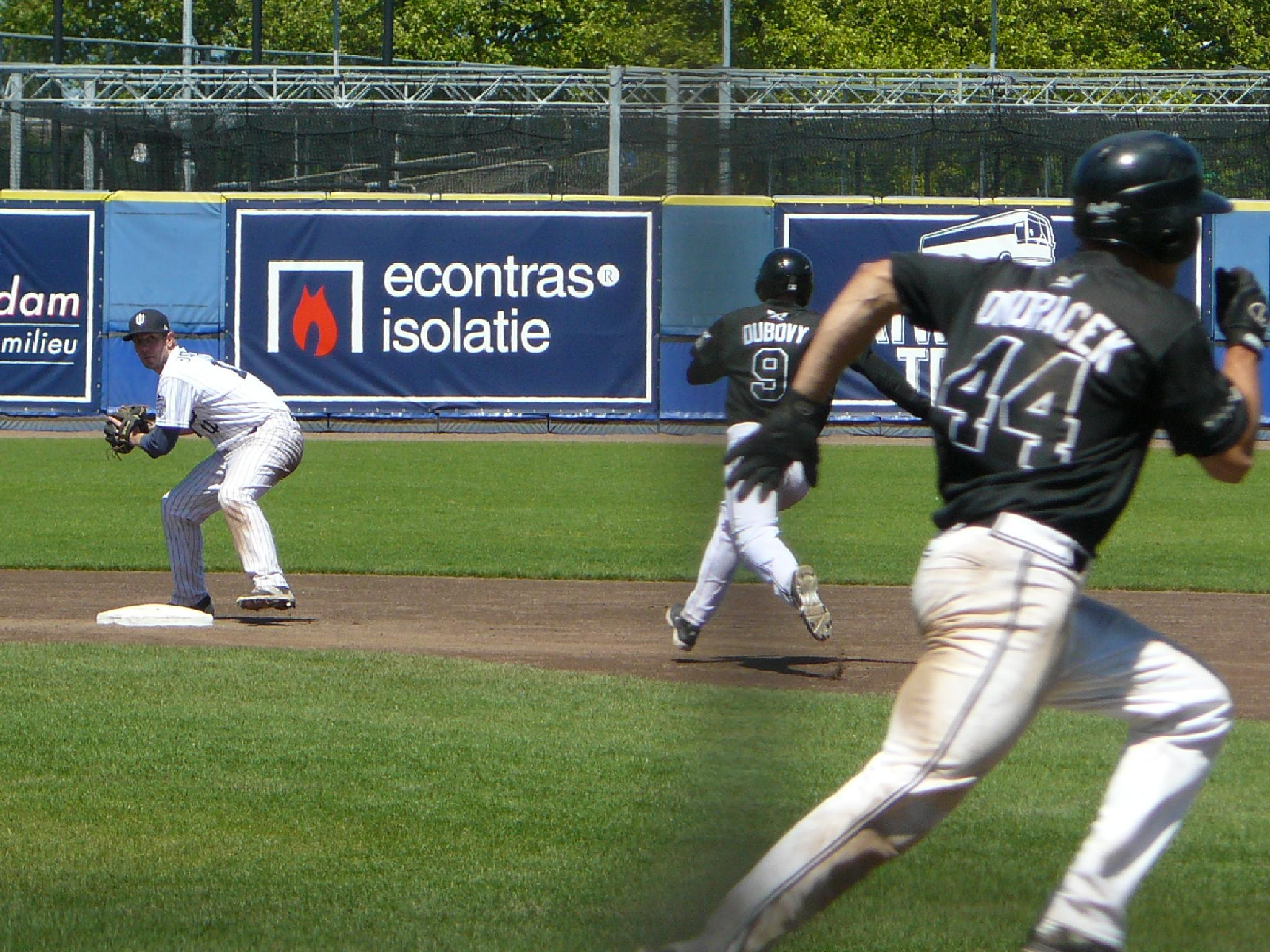 Setting up a double play by yankeebiscuitfan