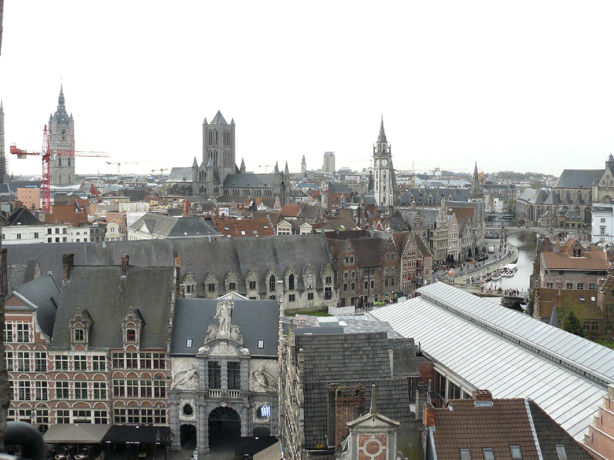 Ghent, Belgium by yankeebiscuitfan