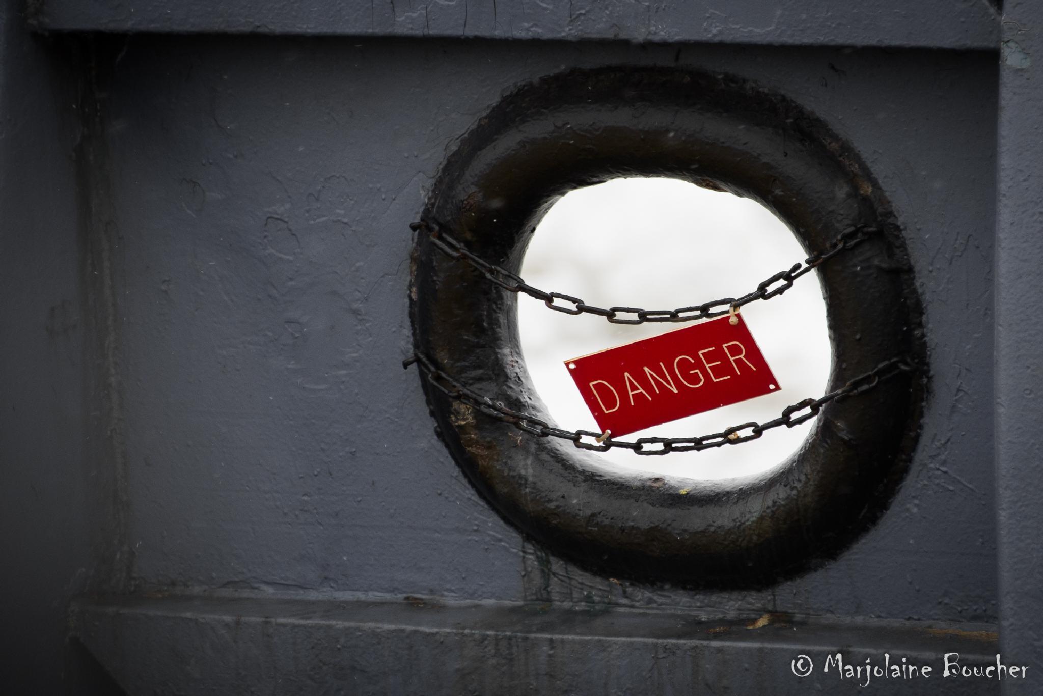 Danger by Marjolaine Boucher