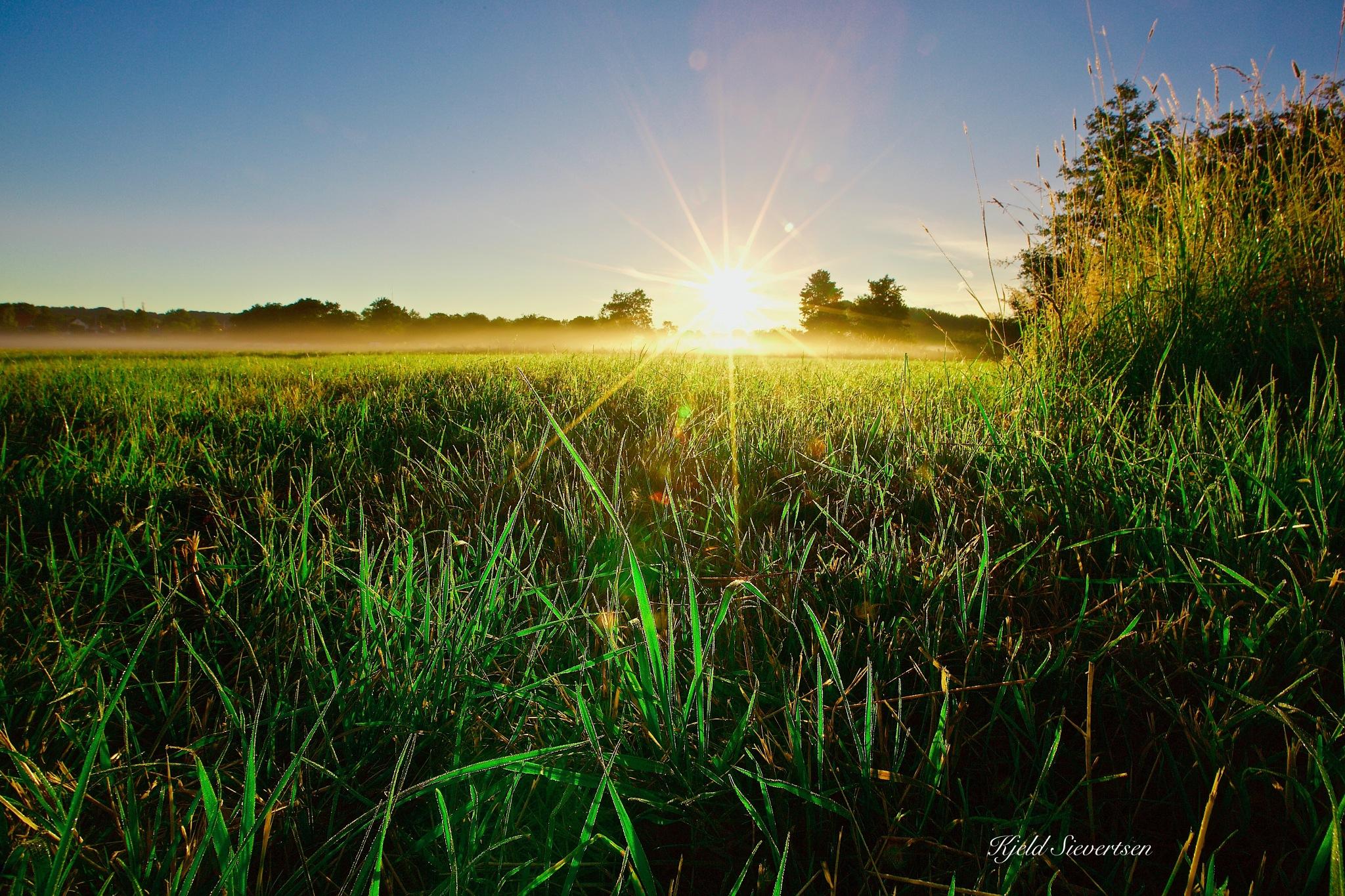 Sunrise.  by kjeld.sievertsen