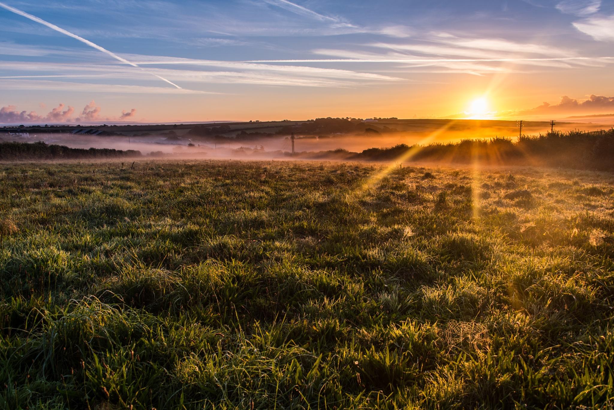 Helston Sunrise by David Carpenter