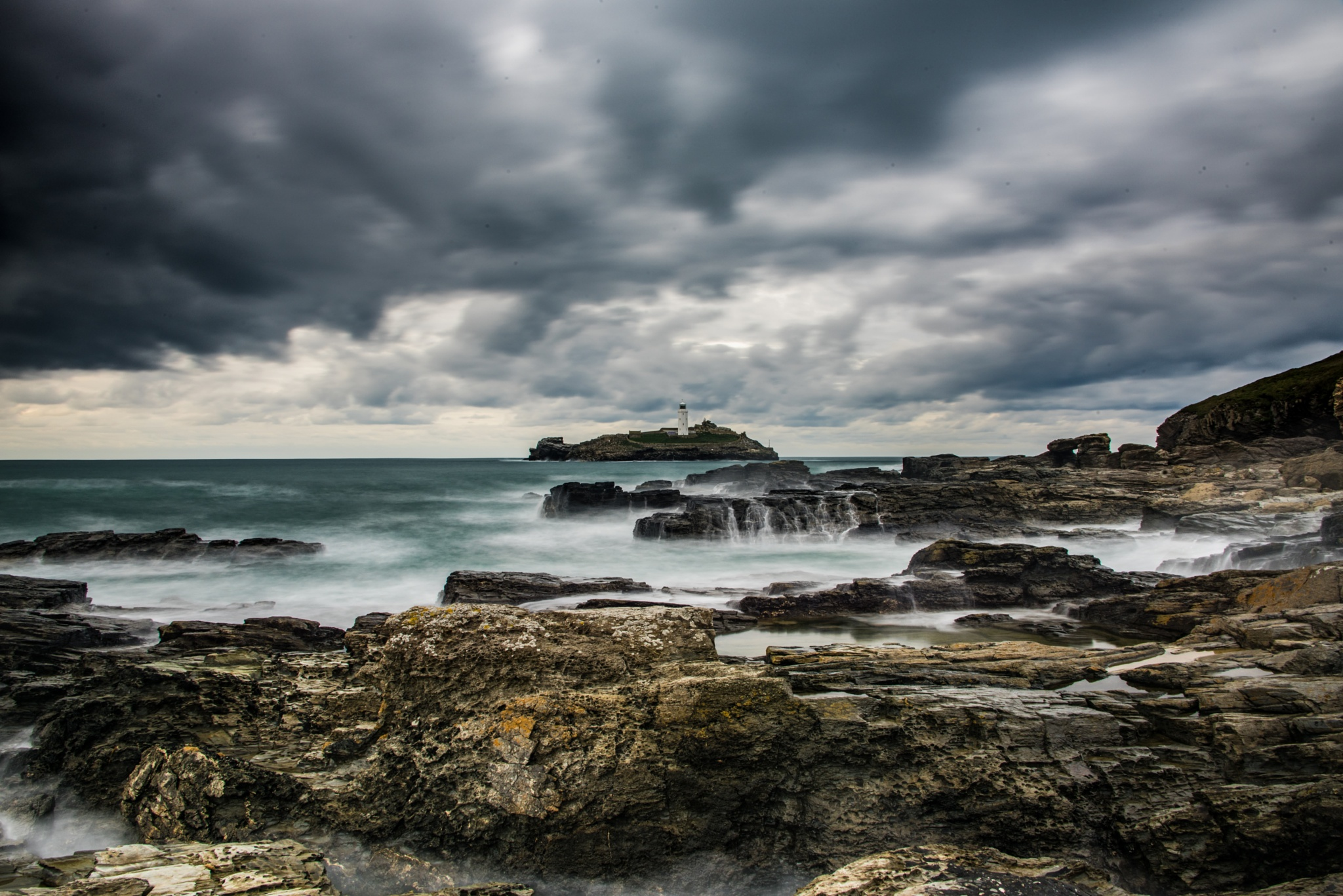 Godrevy Point by David Carpenter