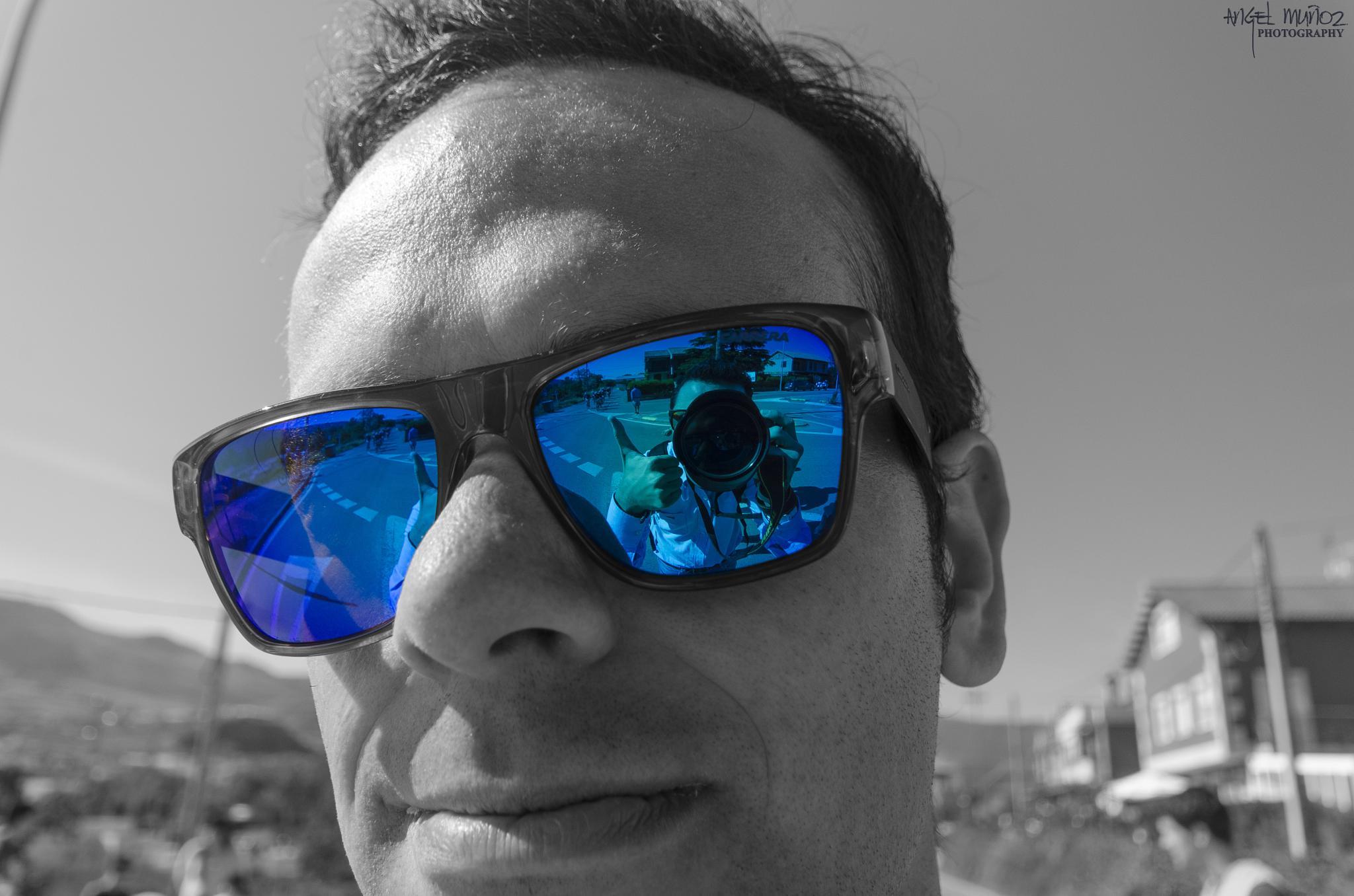 Double Selfie by Angel Muñoz