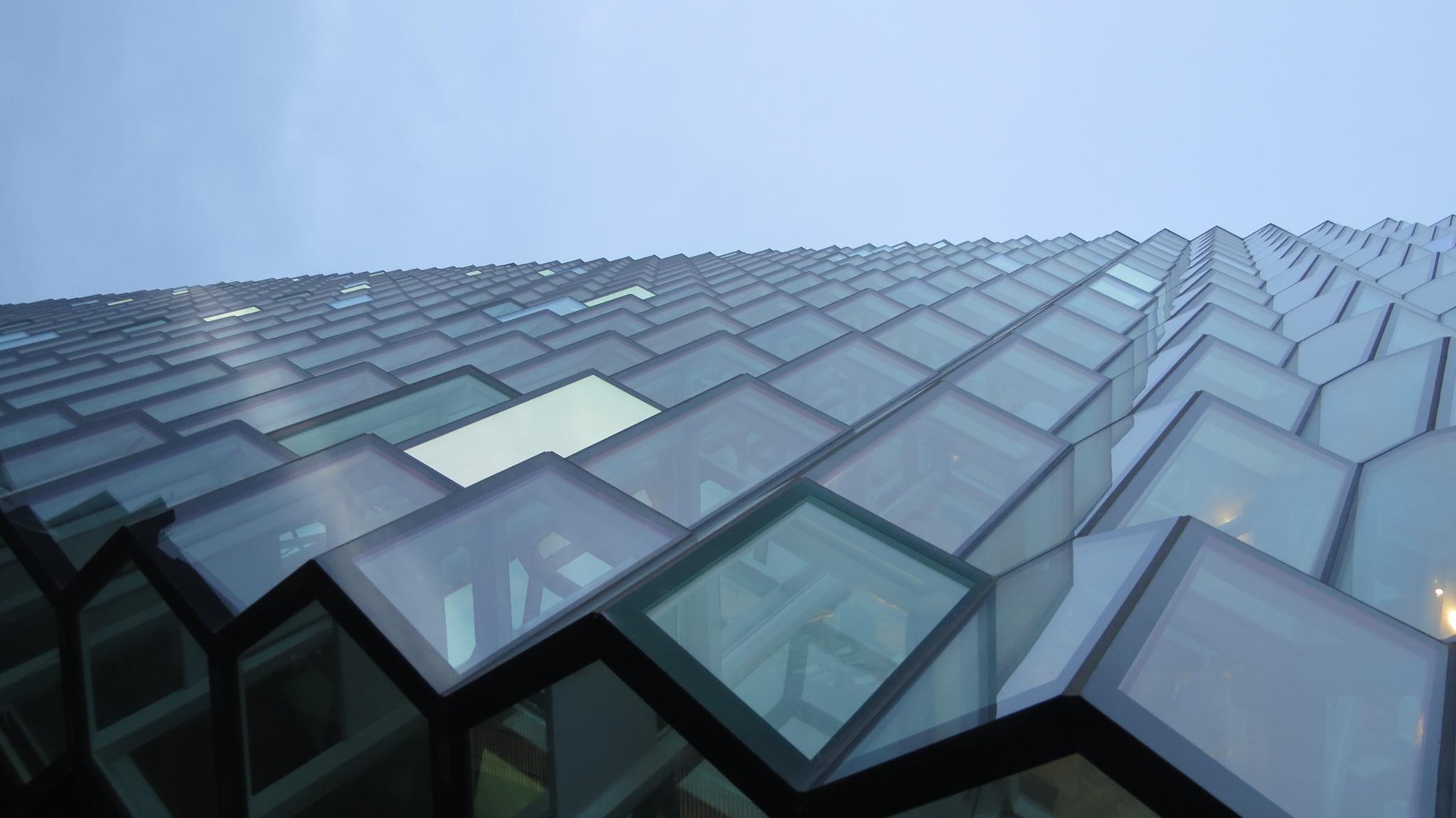 Reykjavik opera house by Davie Butler