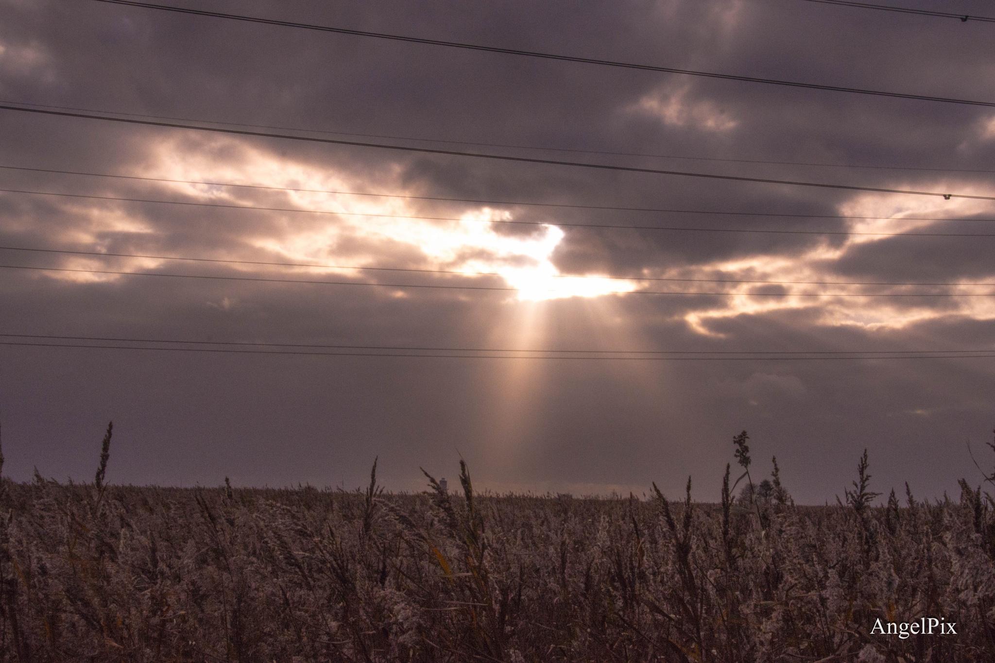 The Heavens peep by AngelPixCN