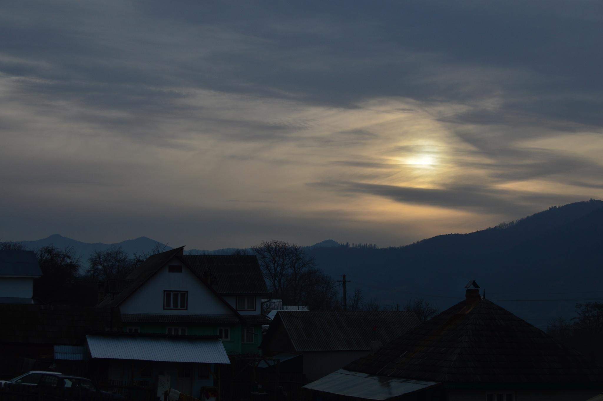 sunset by Mădălina