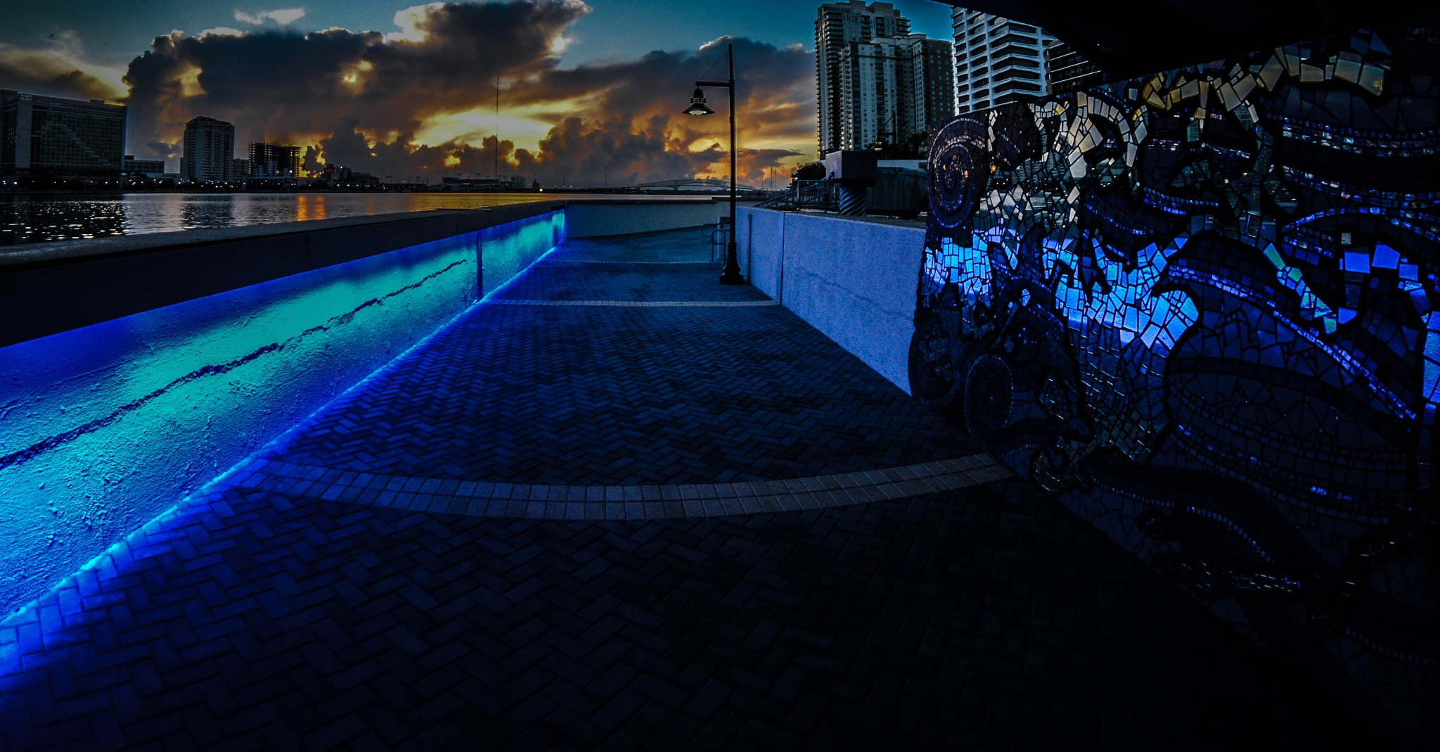 Sunrise and Blue by brian.carter.5661