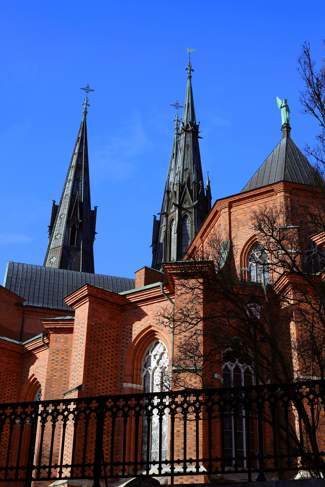 The cathedral of Uppsala by fotofredrica