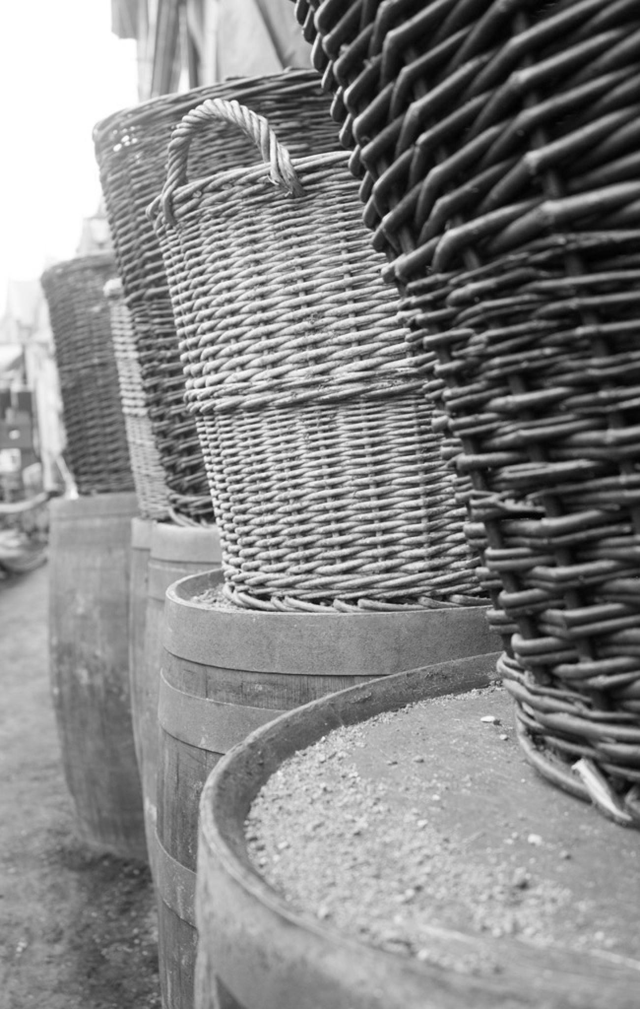 Basket and Barrels  by ScooEroticArt