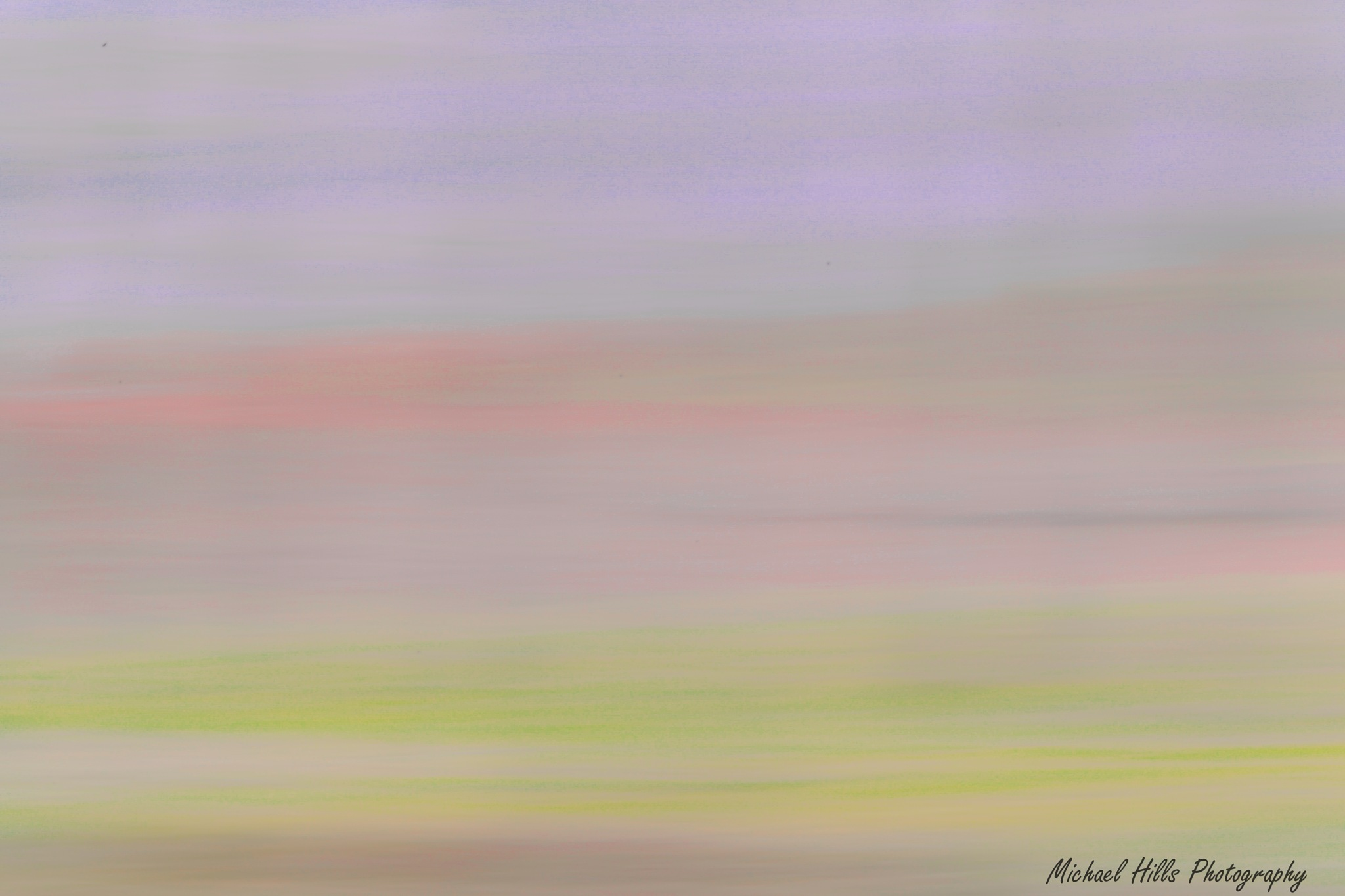 pastel abstract by Michael Hills