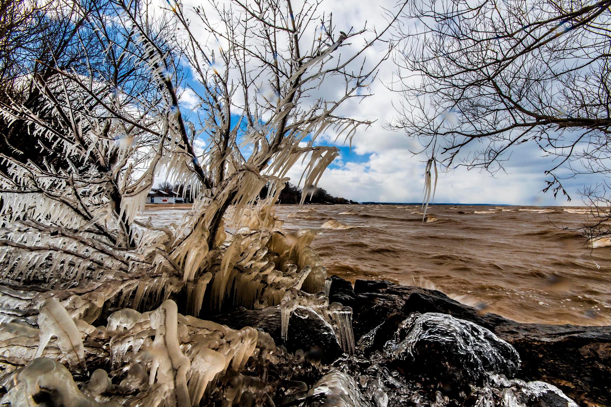 Winters Last Big Blow by Ken Dunlop
