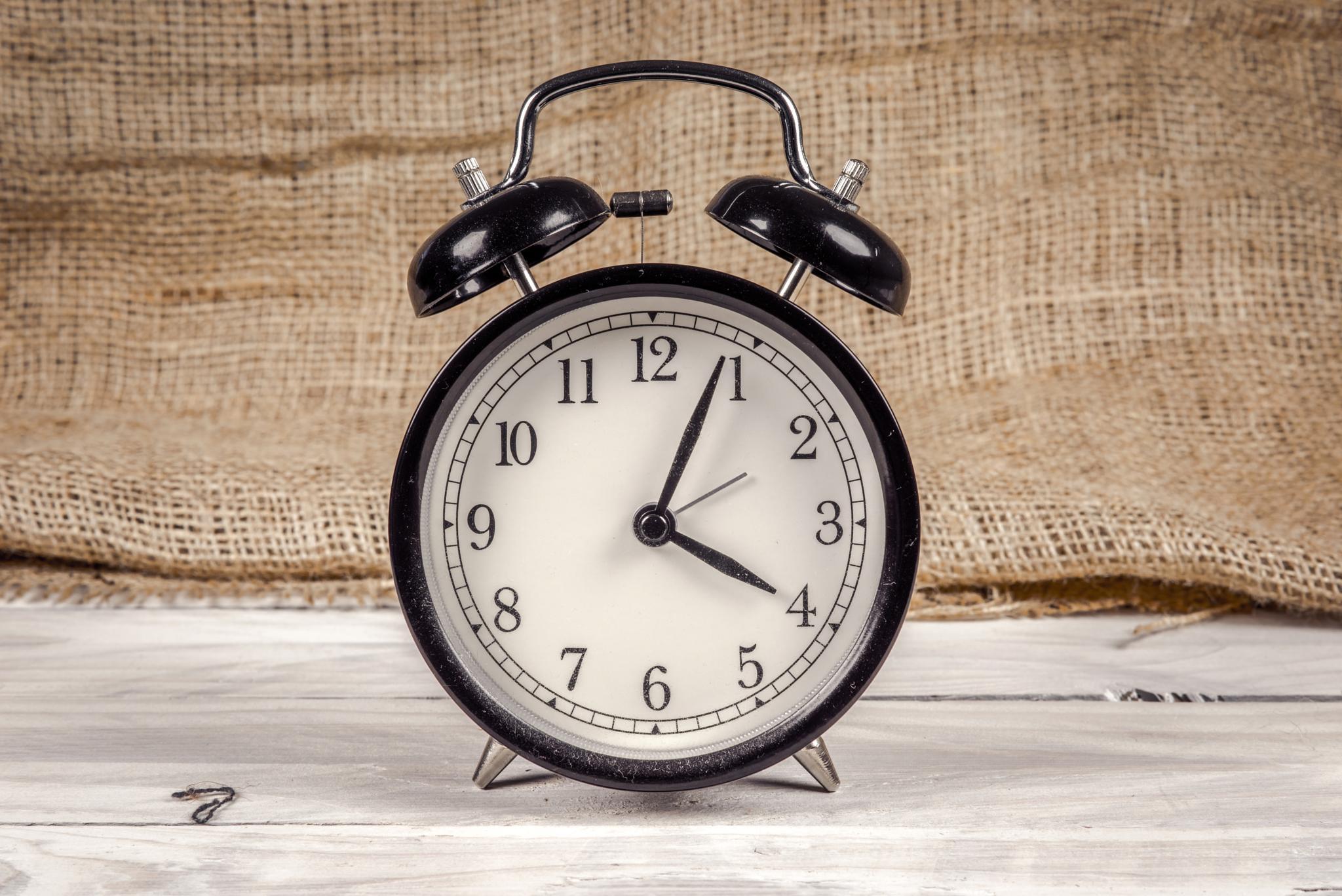 Alarm clock by Kasper Nymann