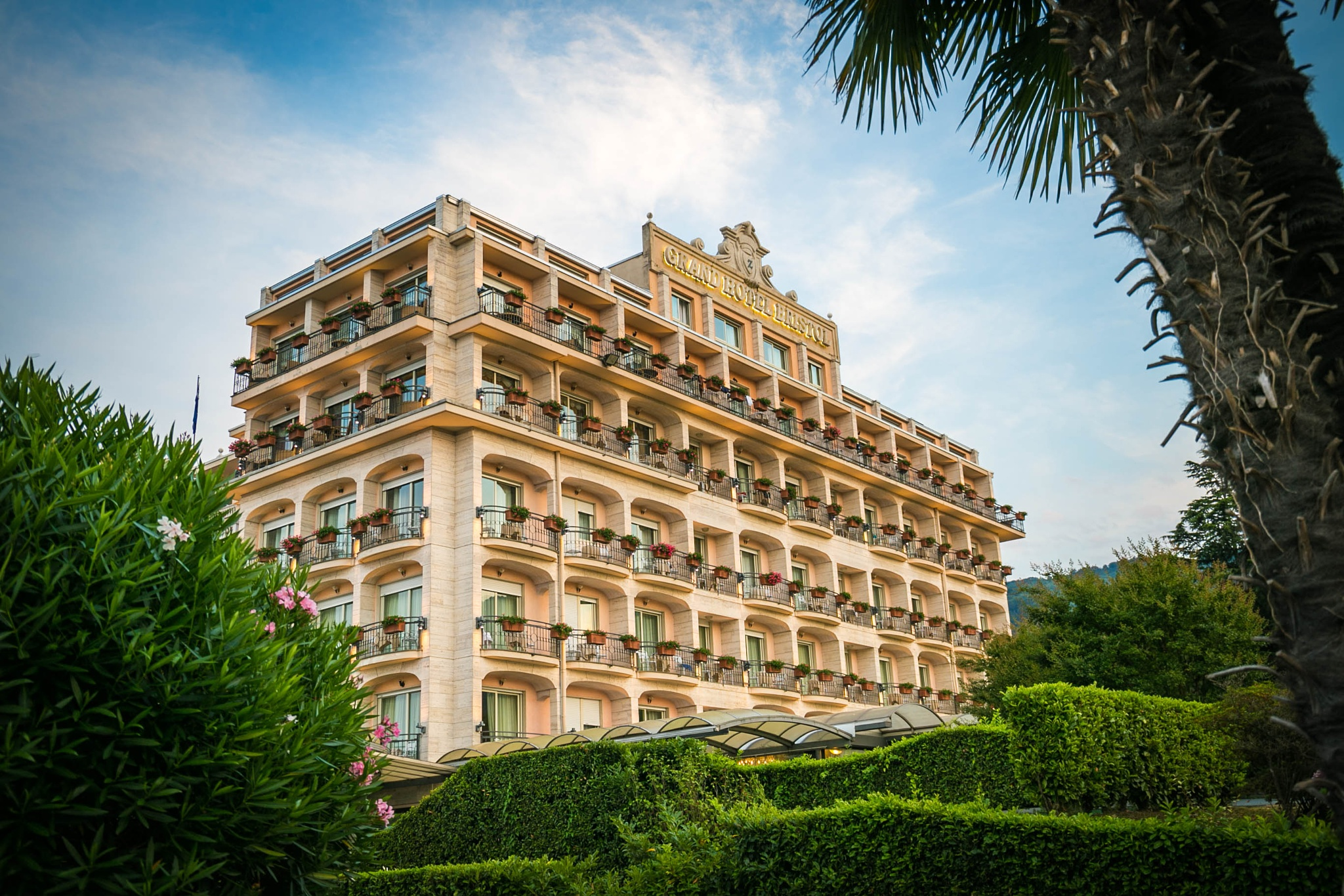 Hotel Bristol Stresa by André Soerensen