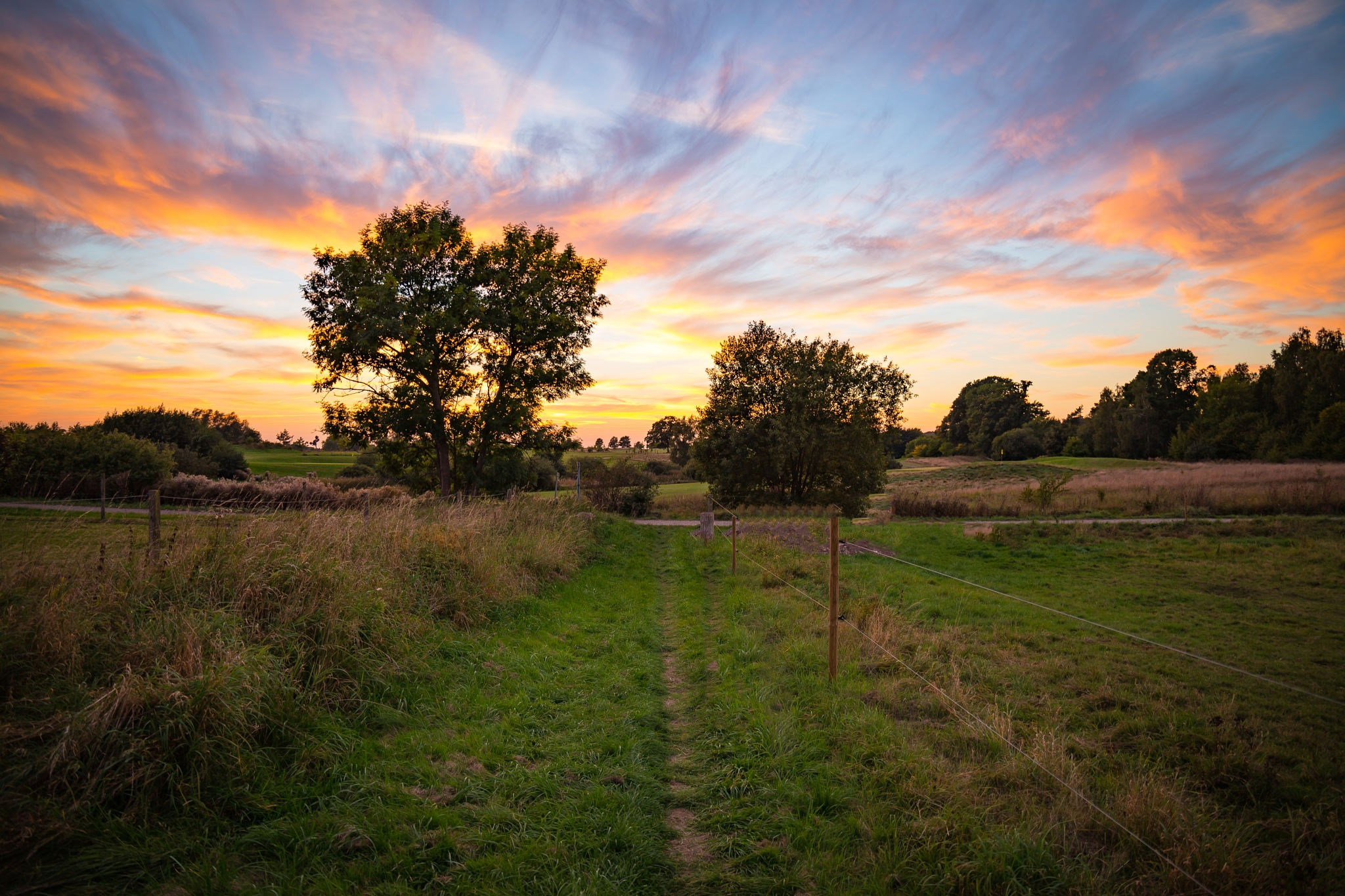 Late Summer Sunset by André Soerensen