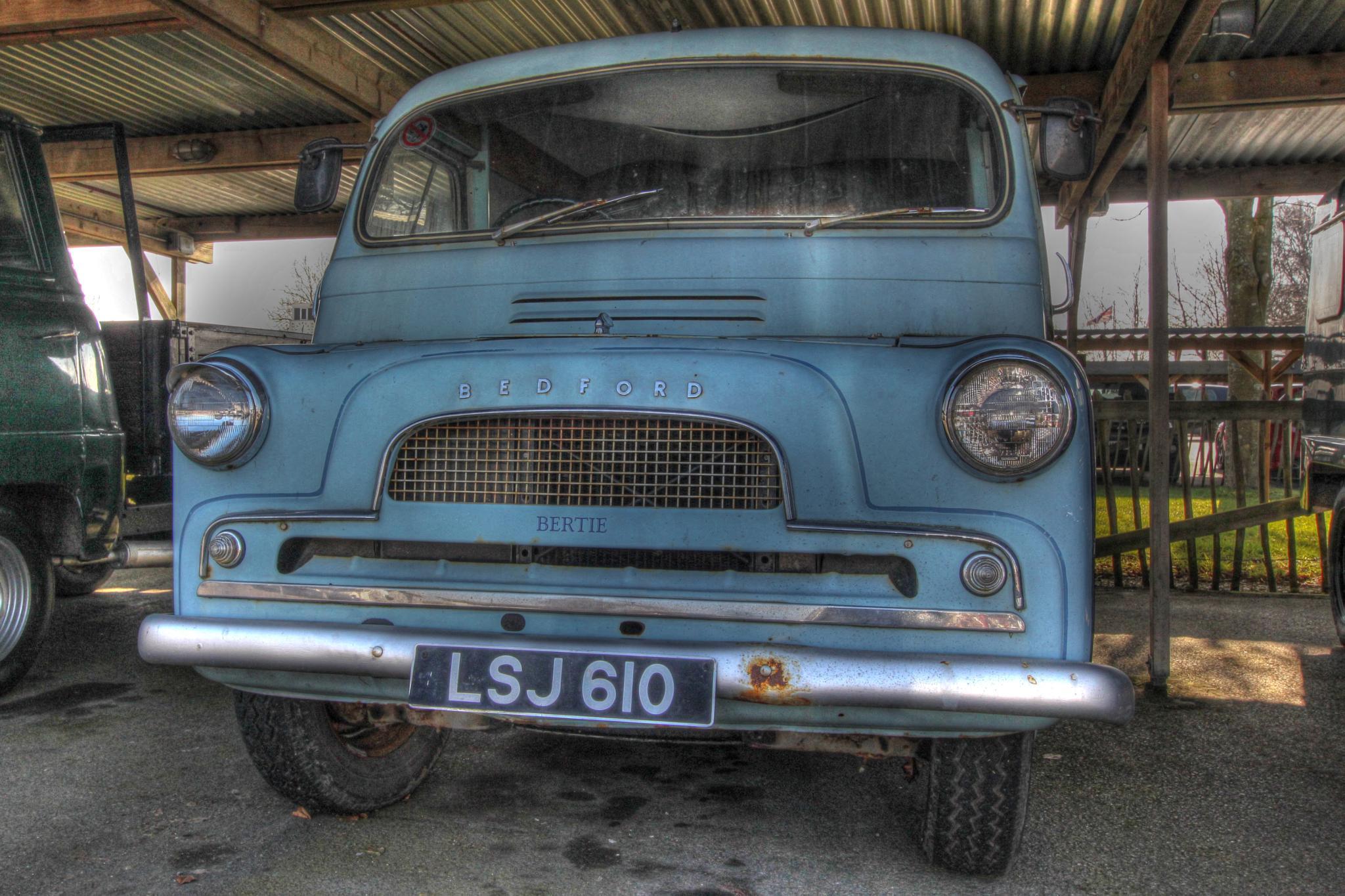 Old Bertie the Bedford Van by chris.stubbings.52