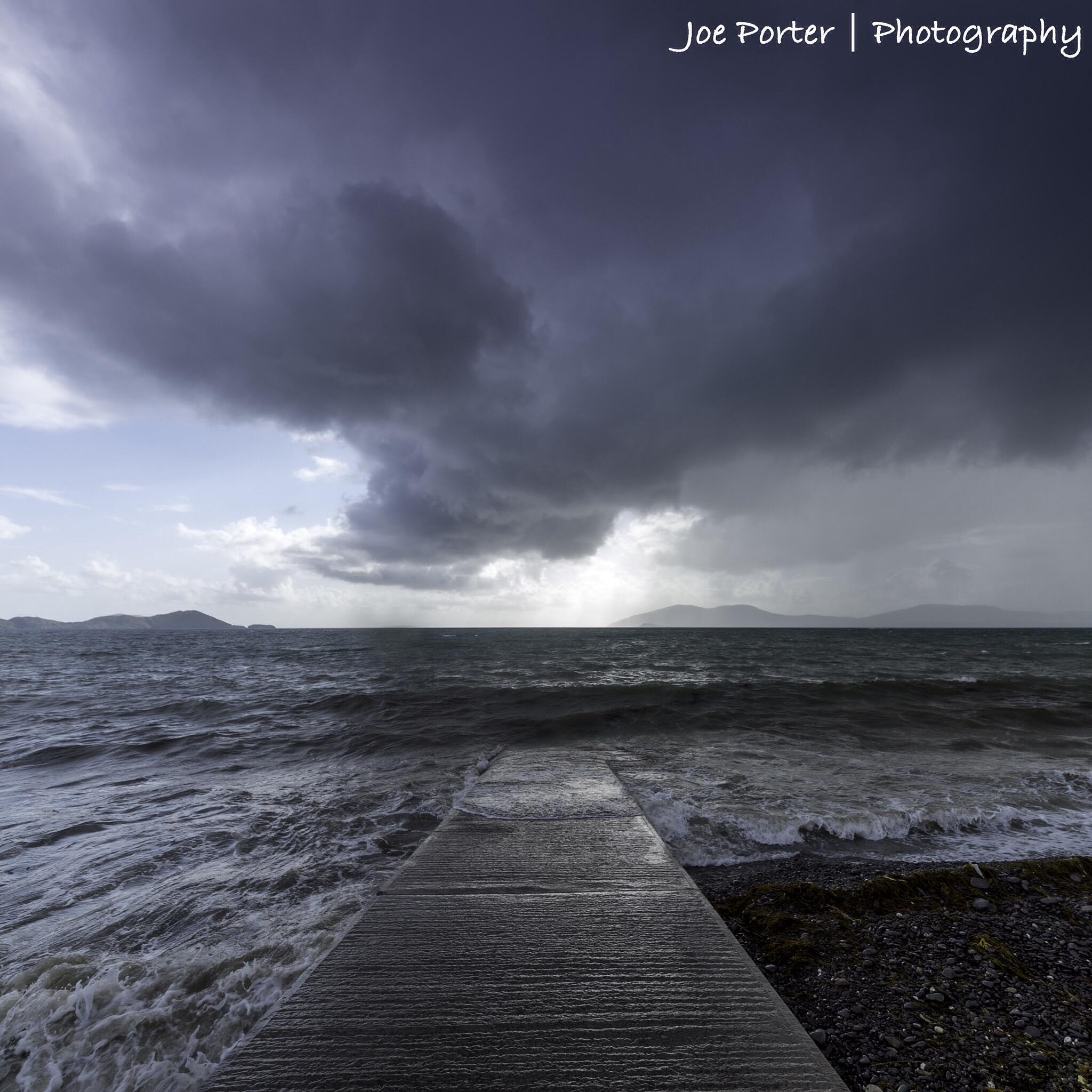 Rains Coming by Joe Porter Photography
