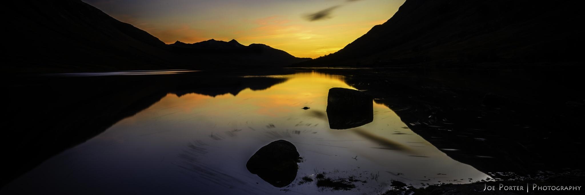 Loch Etive Sunset by Joe Porter Photography