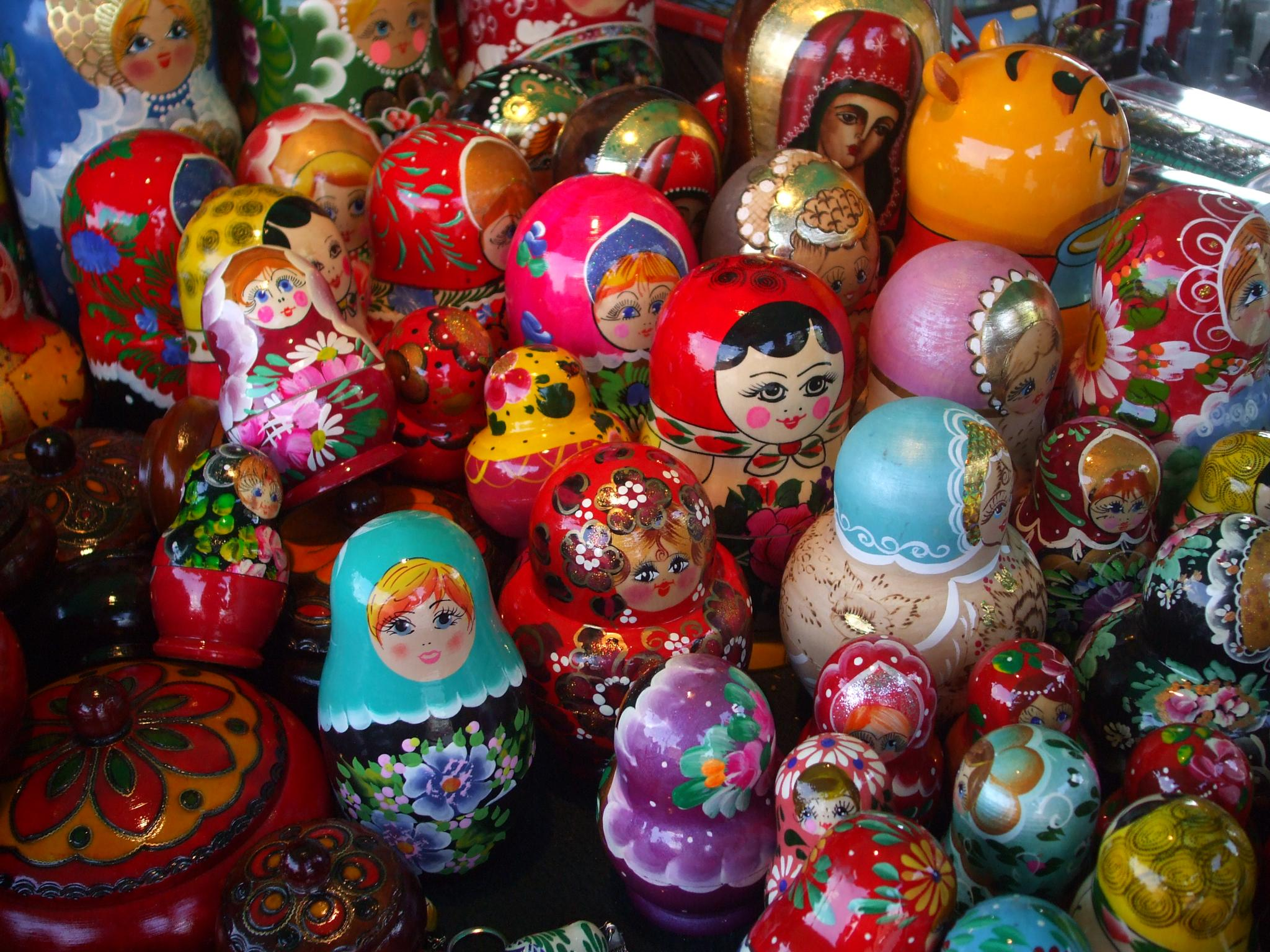 Russian dolls of Warsaw  by keve E