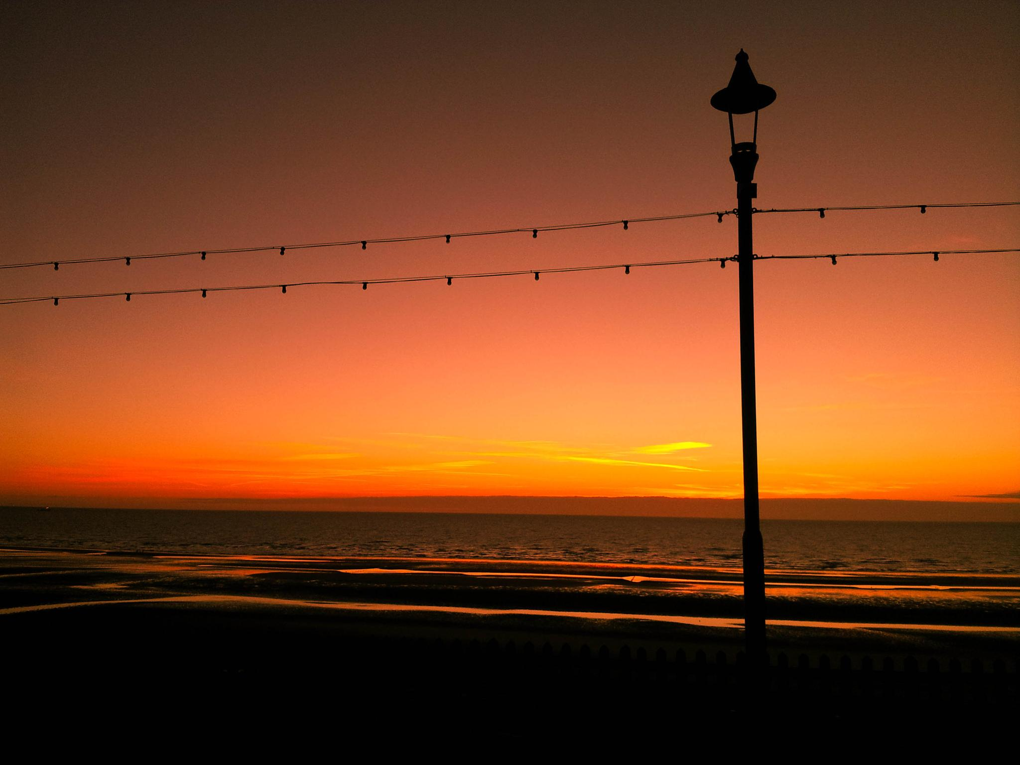 Peaceful Sunset by Jack Luxford