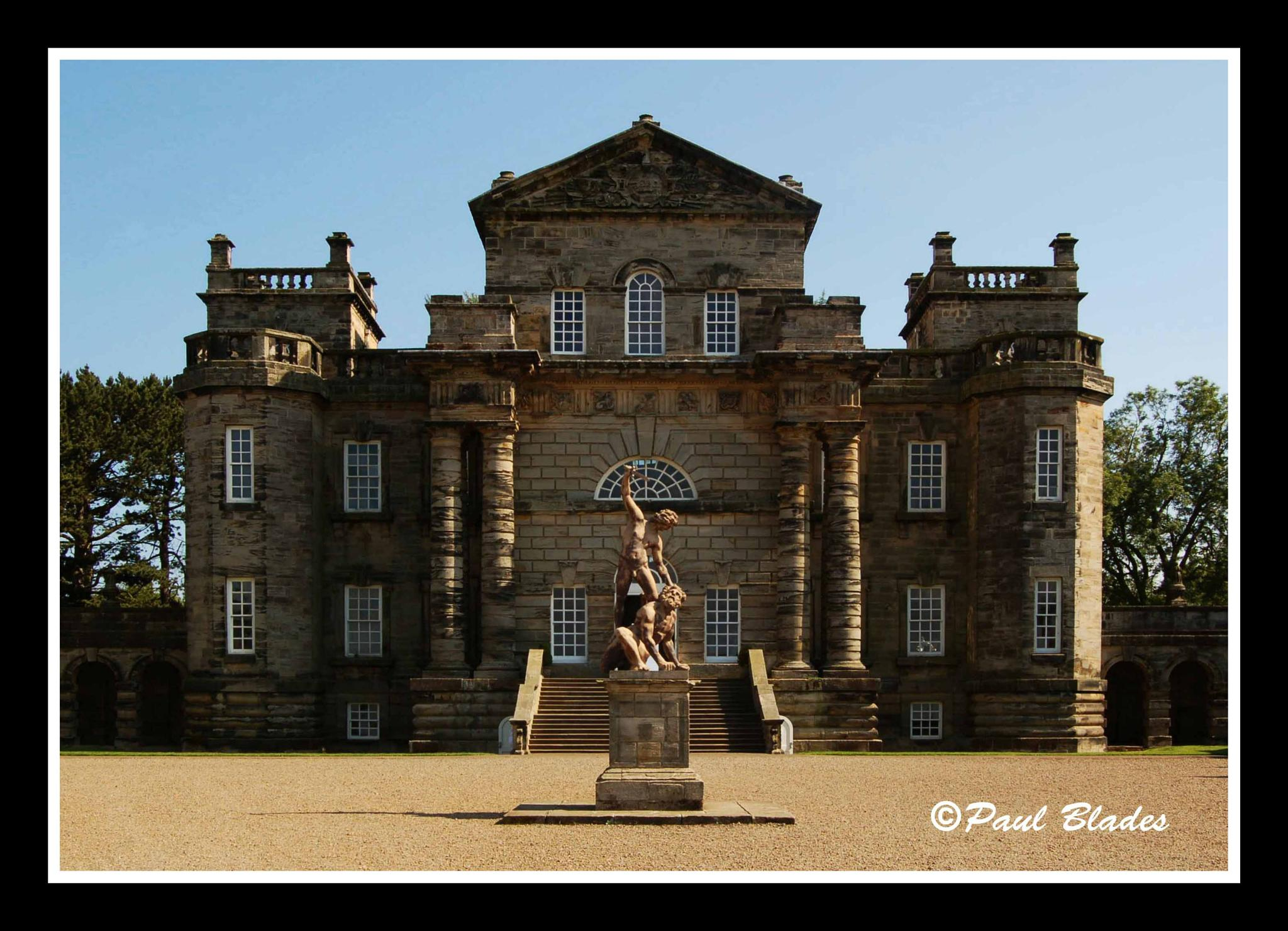Seaton Delaval Hall by paul blades