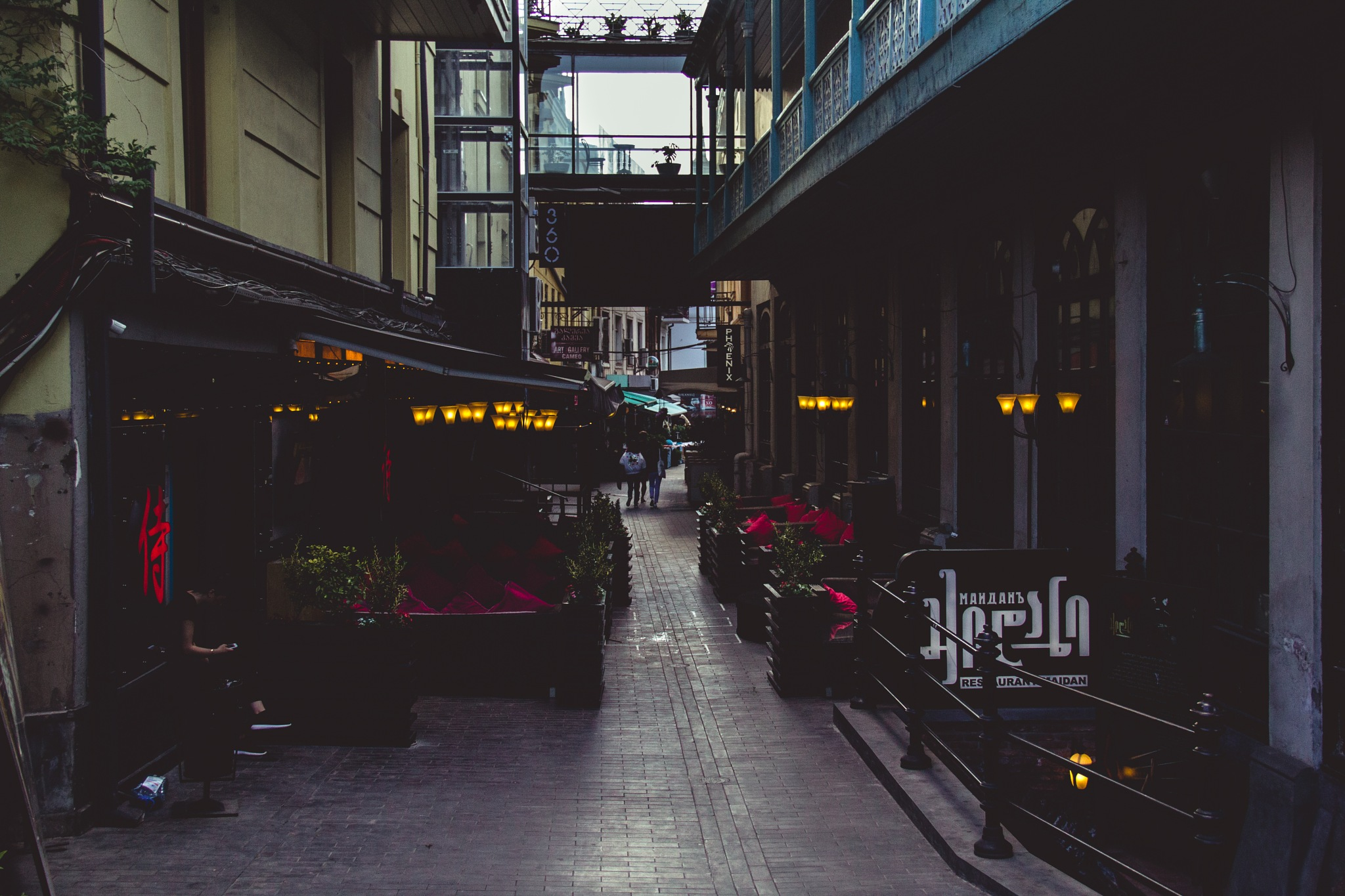 The Alleyway by A.J.