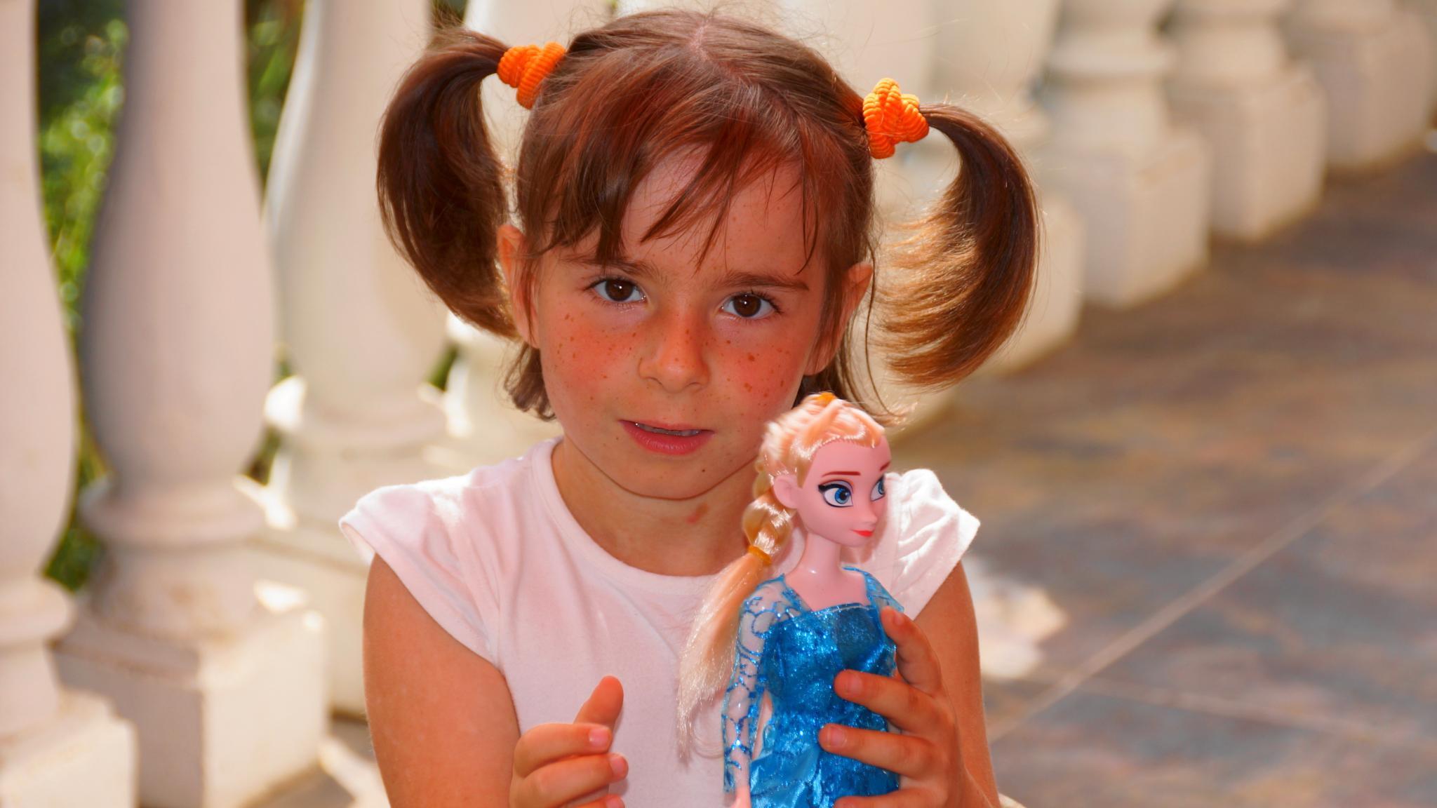 Photo in Portrait #little #girl #doll