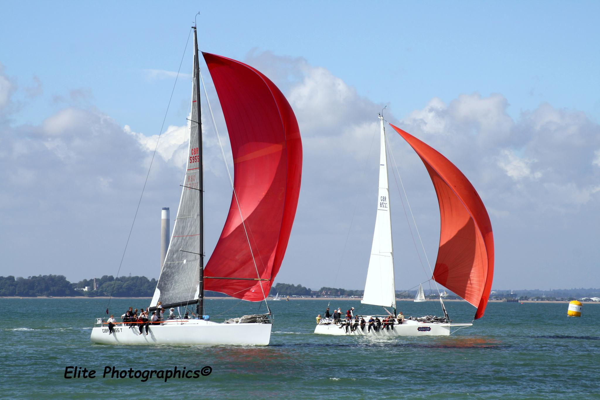 Red Sails by LISA WEBB