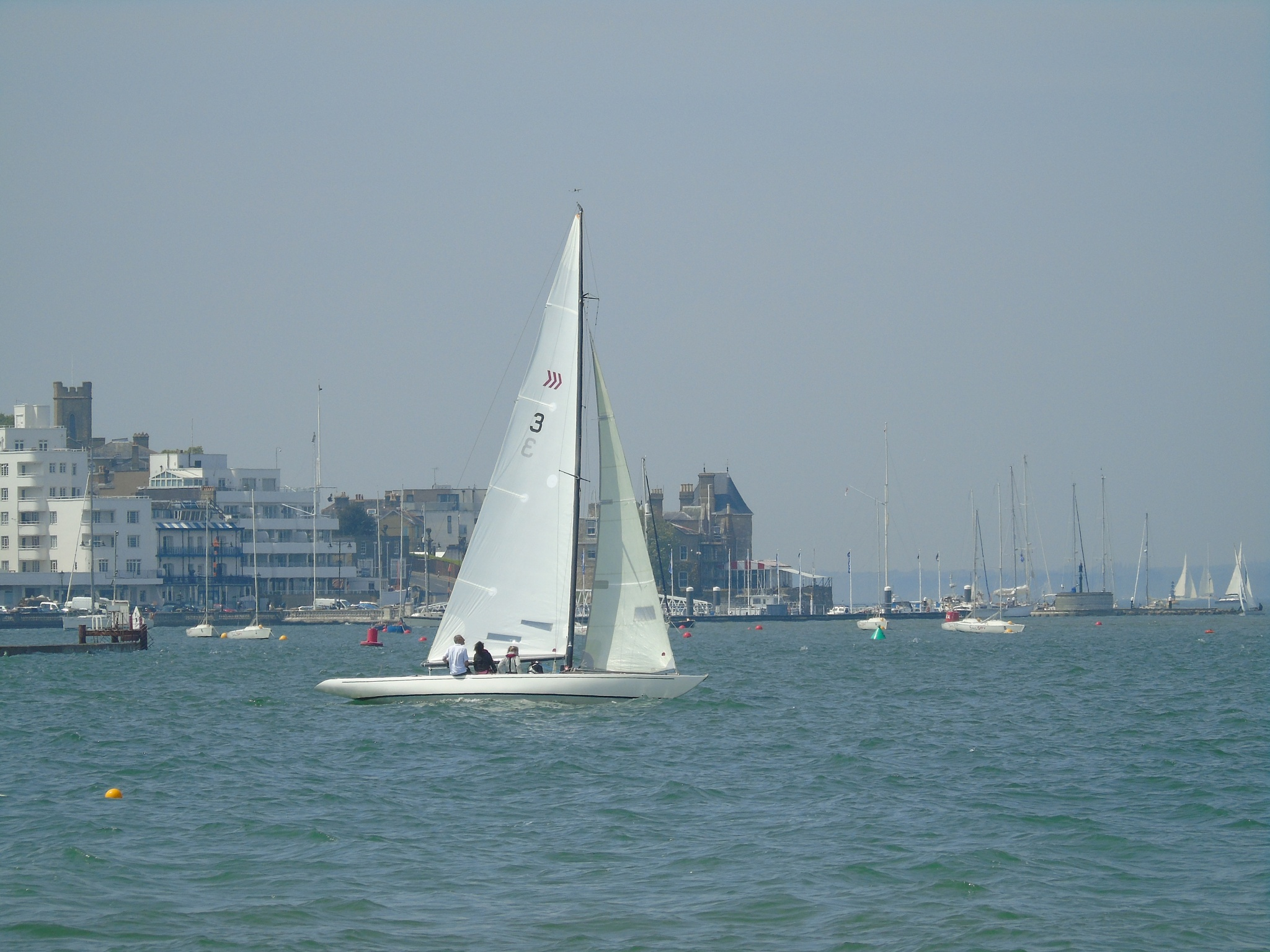 Cowes Isle of Wight by Jan.ohnokt