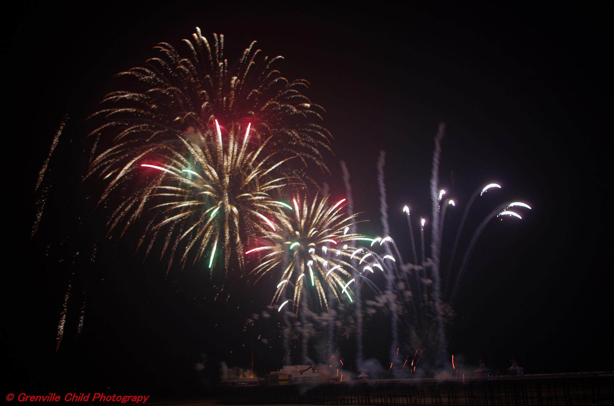 fireworks by grenchild