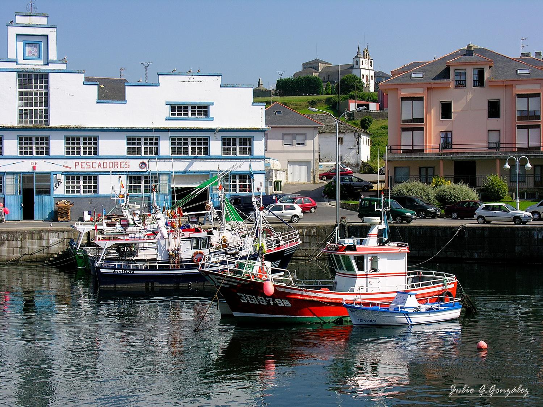 Photo in Cityscape #puerto de vega #navia #asturias #españa #spain