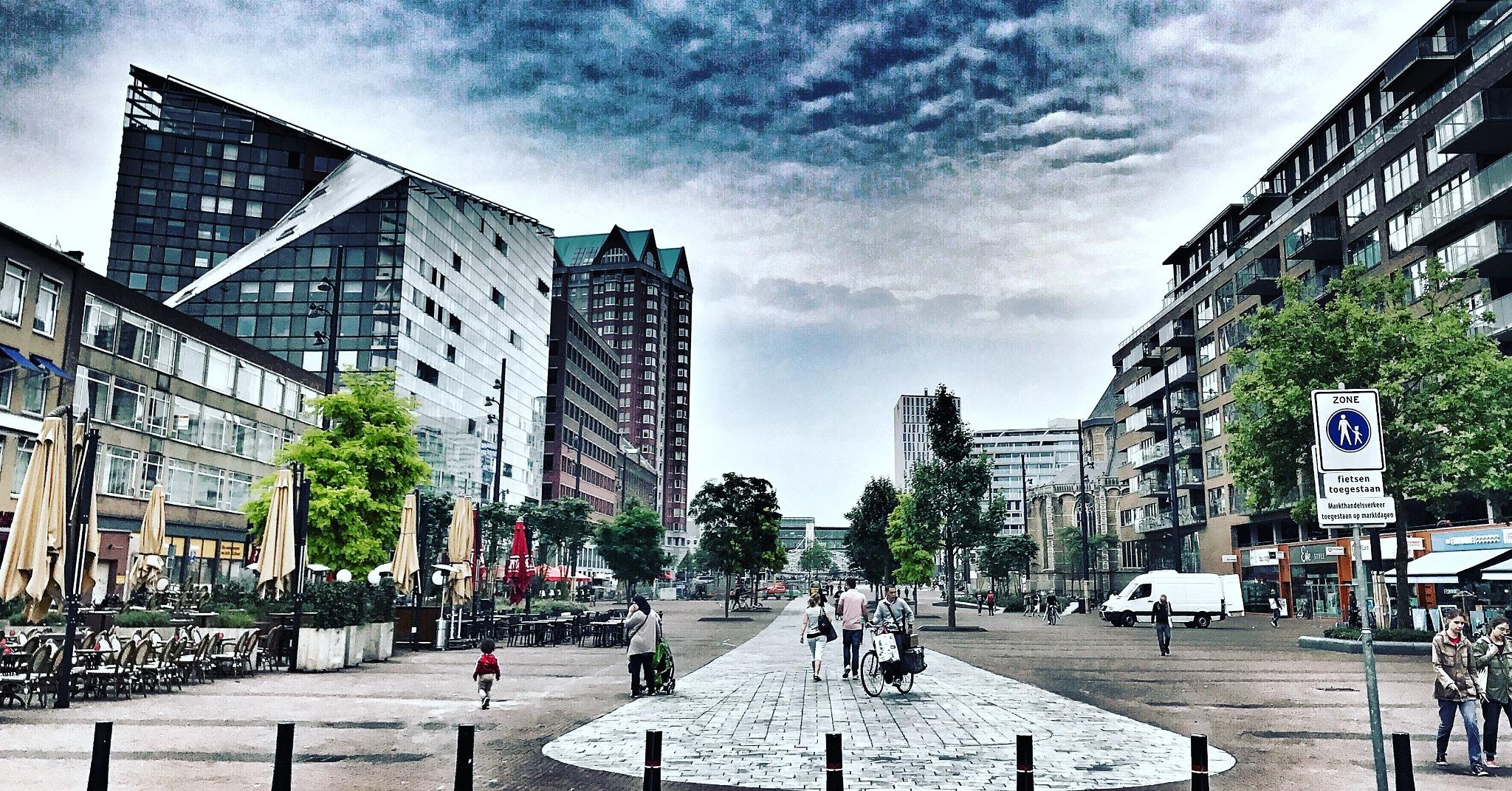 CityscapeRotterdam  by ad.kesteloo