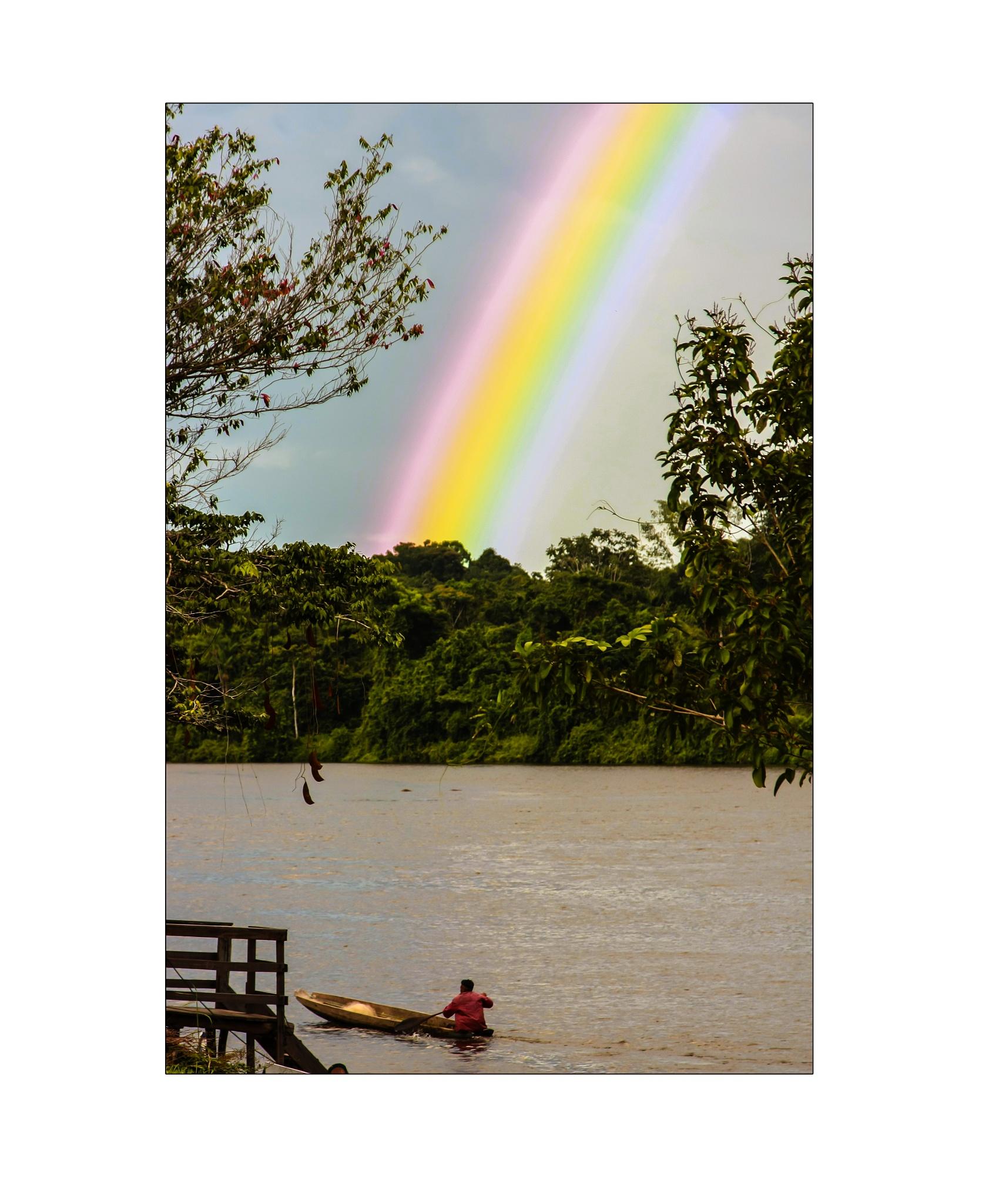 Rainforrest rainbow by ad.kesteloo