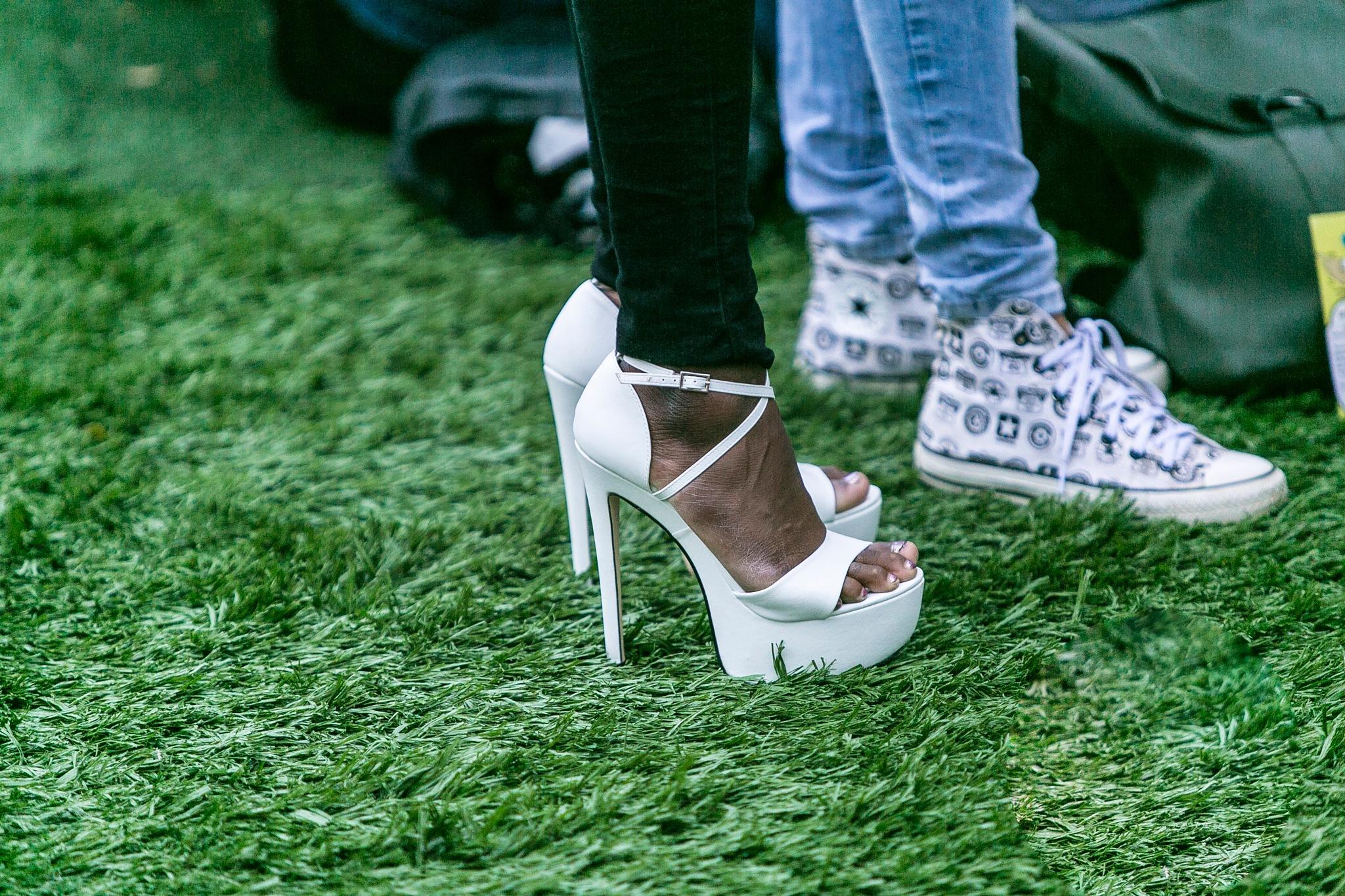 Sneakers or Heels by ad.kesteloo