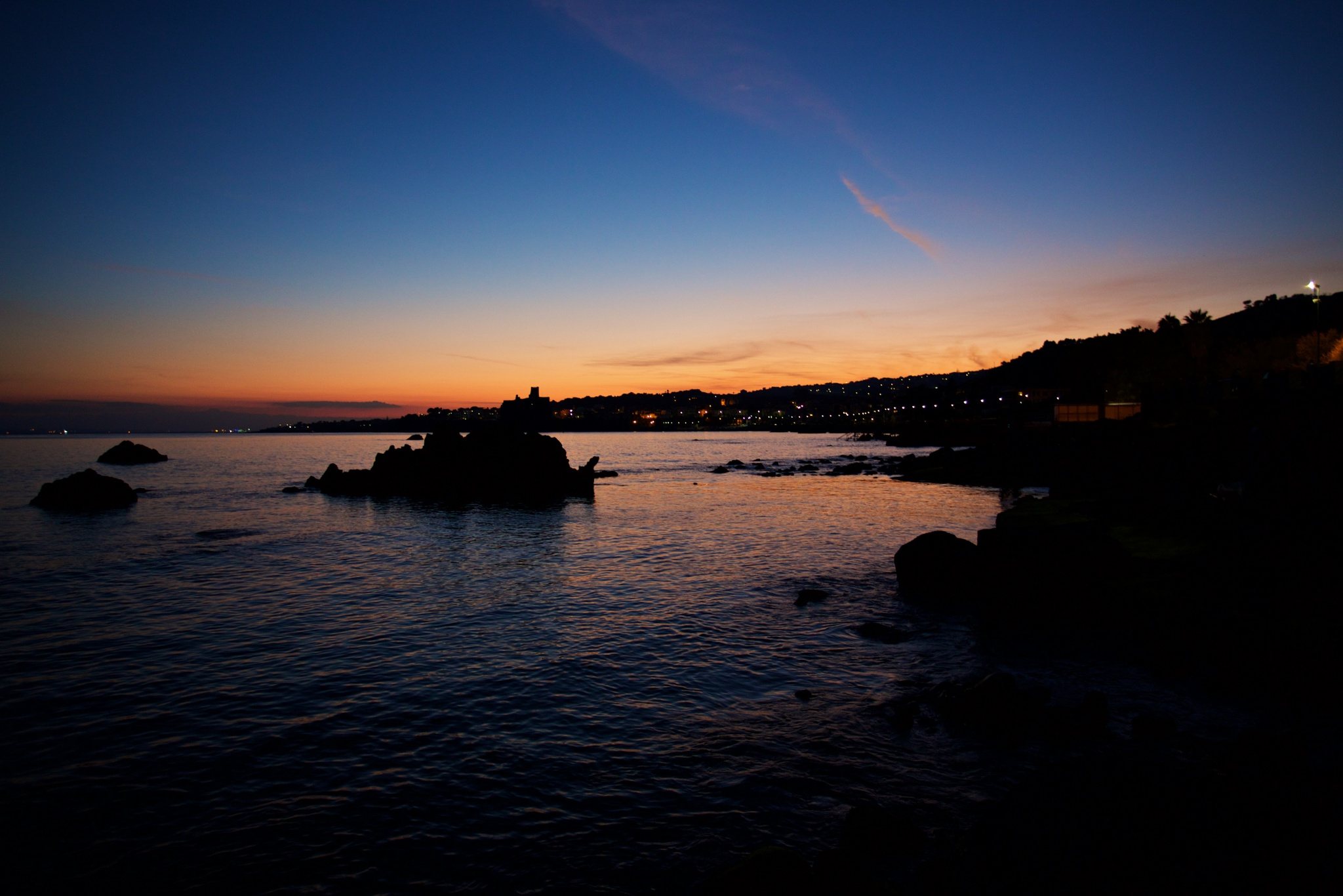 an autumn evening on the waterfront of a small town #2 by paolotomaselloct
