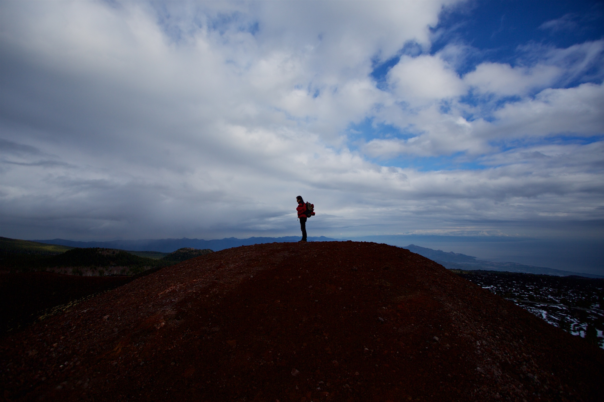 man on the volcano by paolotomaselloct