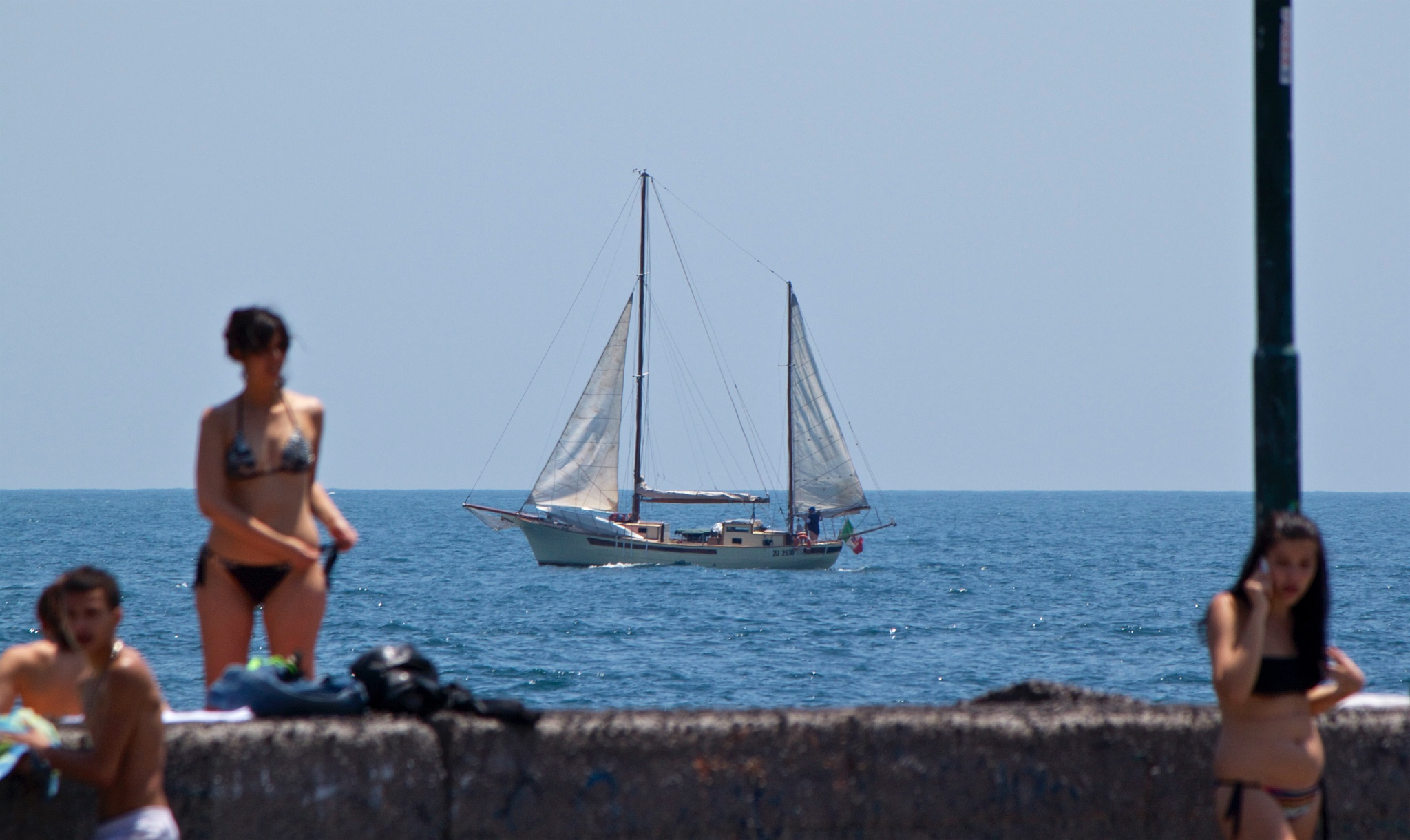 sailing yacht by paolotomaselloct