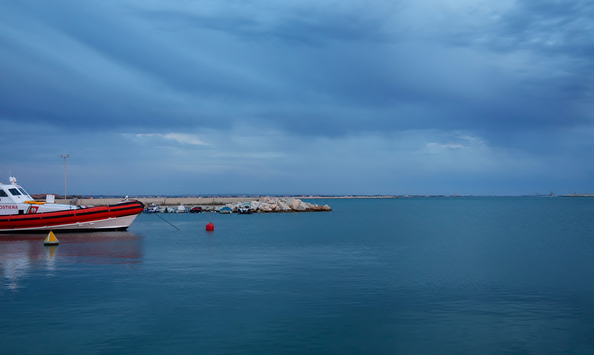 the sea under the clouds by paolotomaselloct