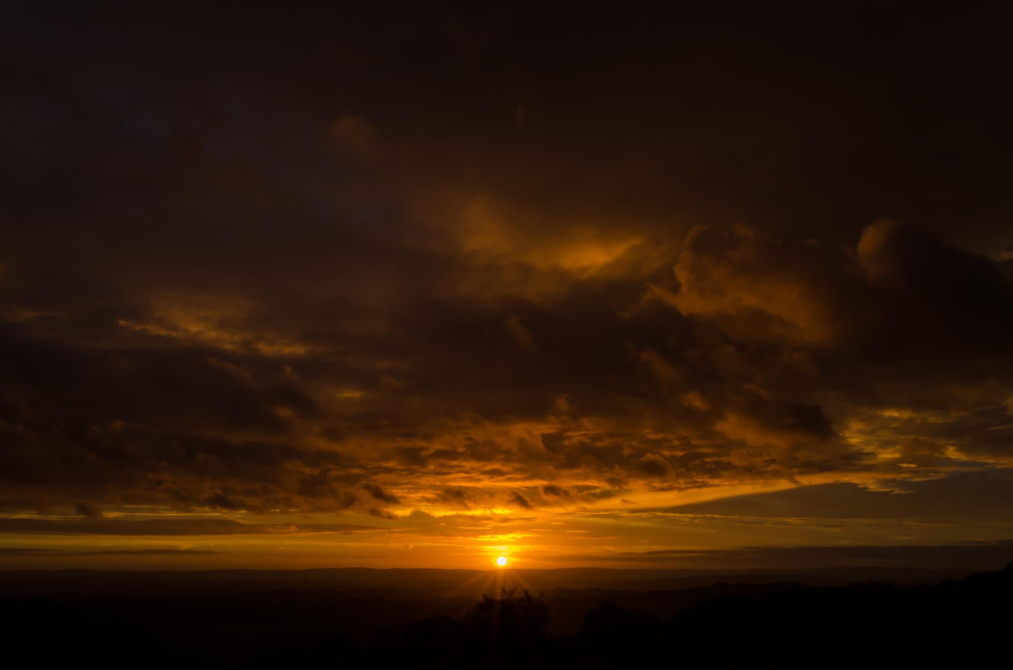 Dawn from the top of the Derry by Adam Colegate