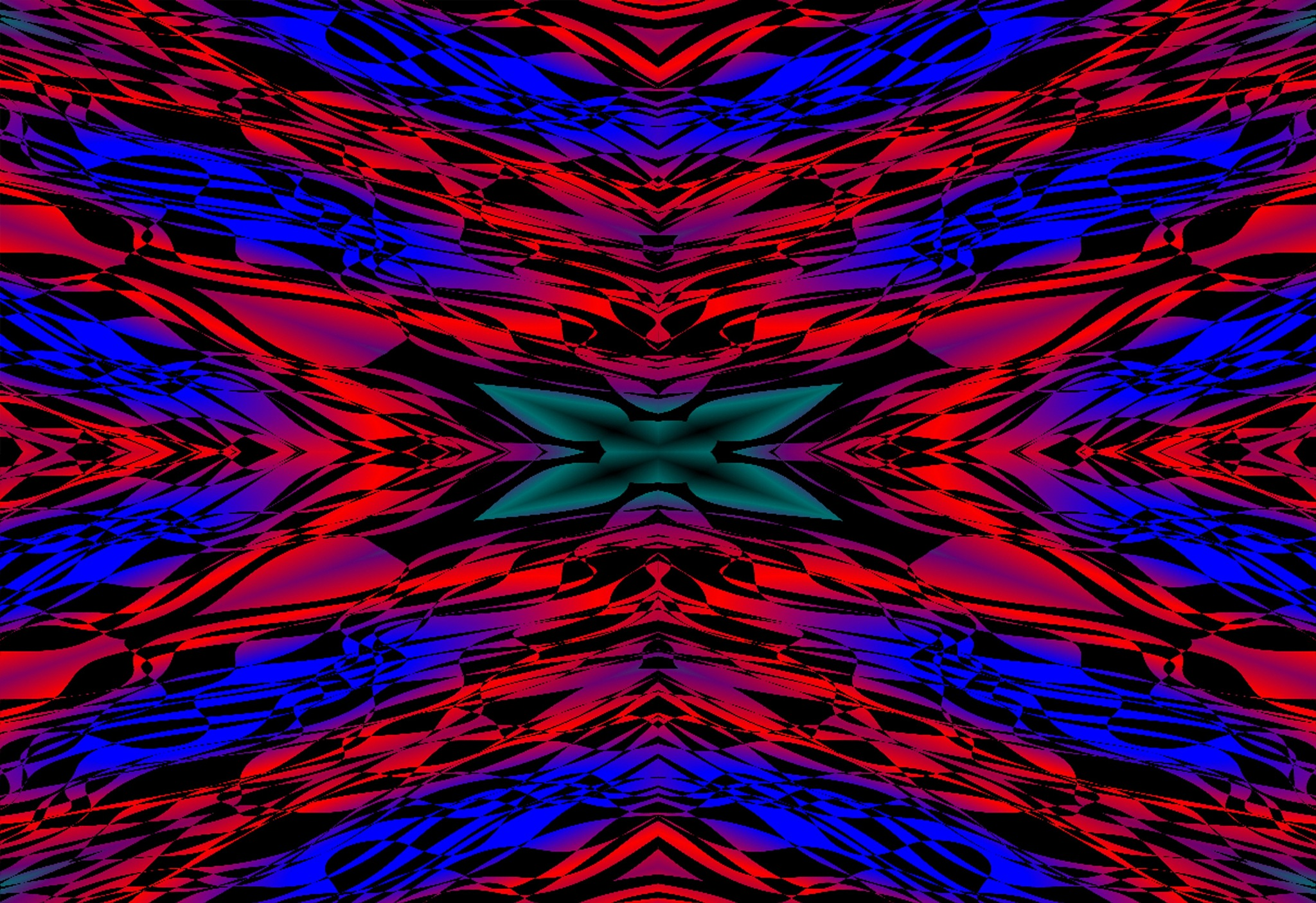 Abstract cross-reflection. by charles.fortescue.3