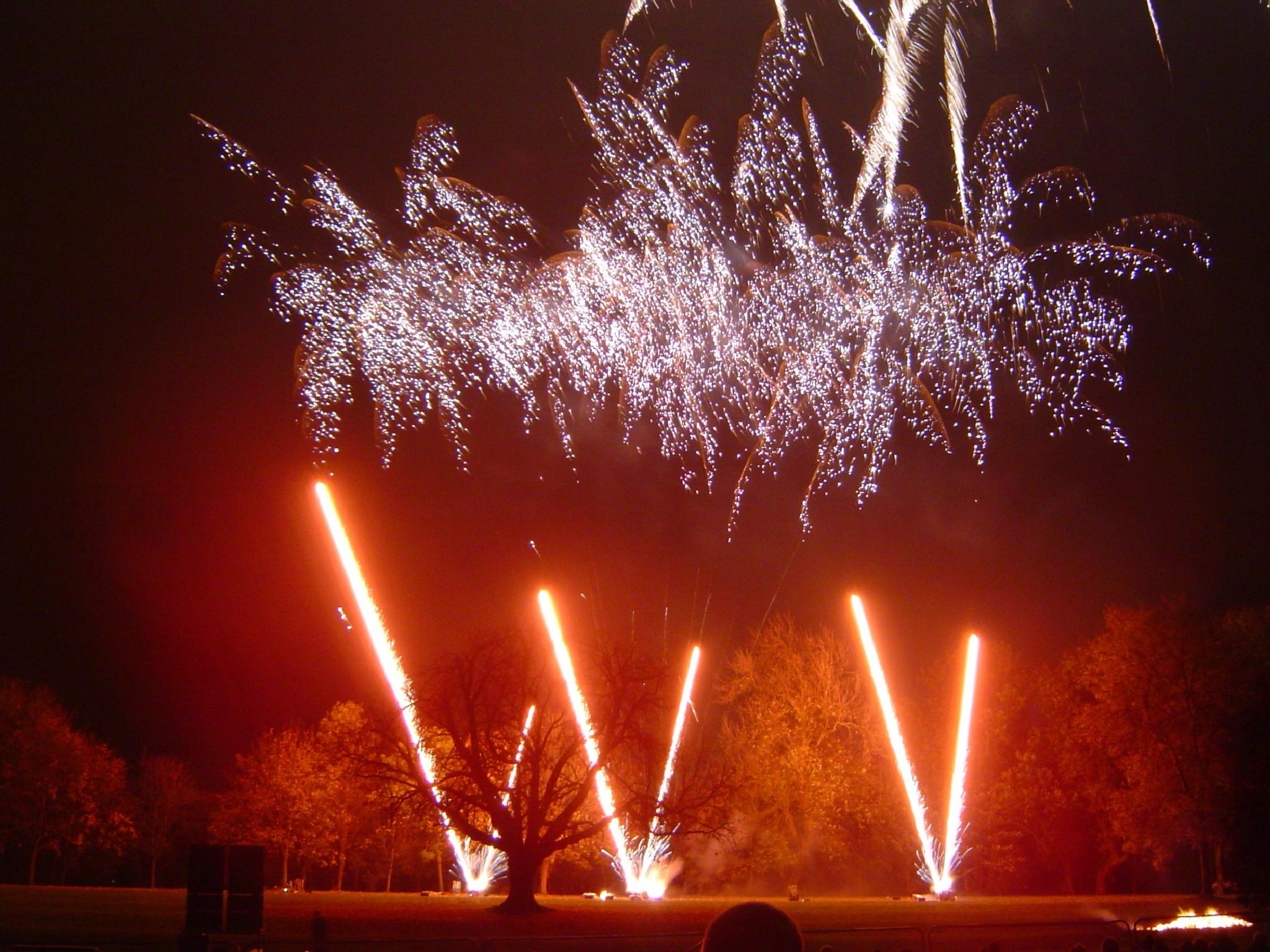 Very, Very, Very good Fireworks display at Rushden, Hall Park. by charles.fortescue.3
