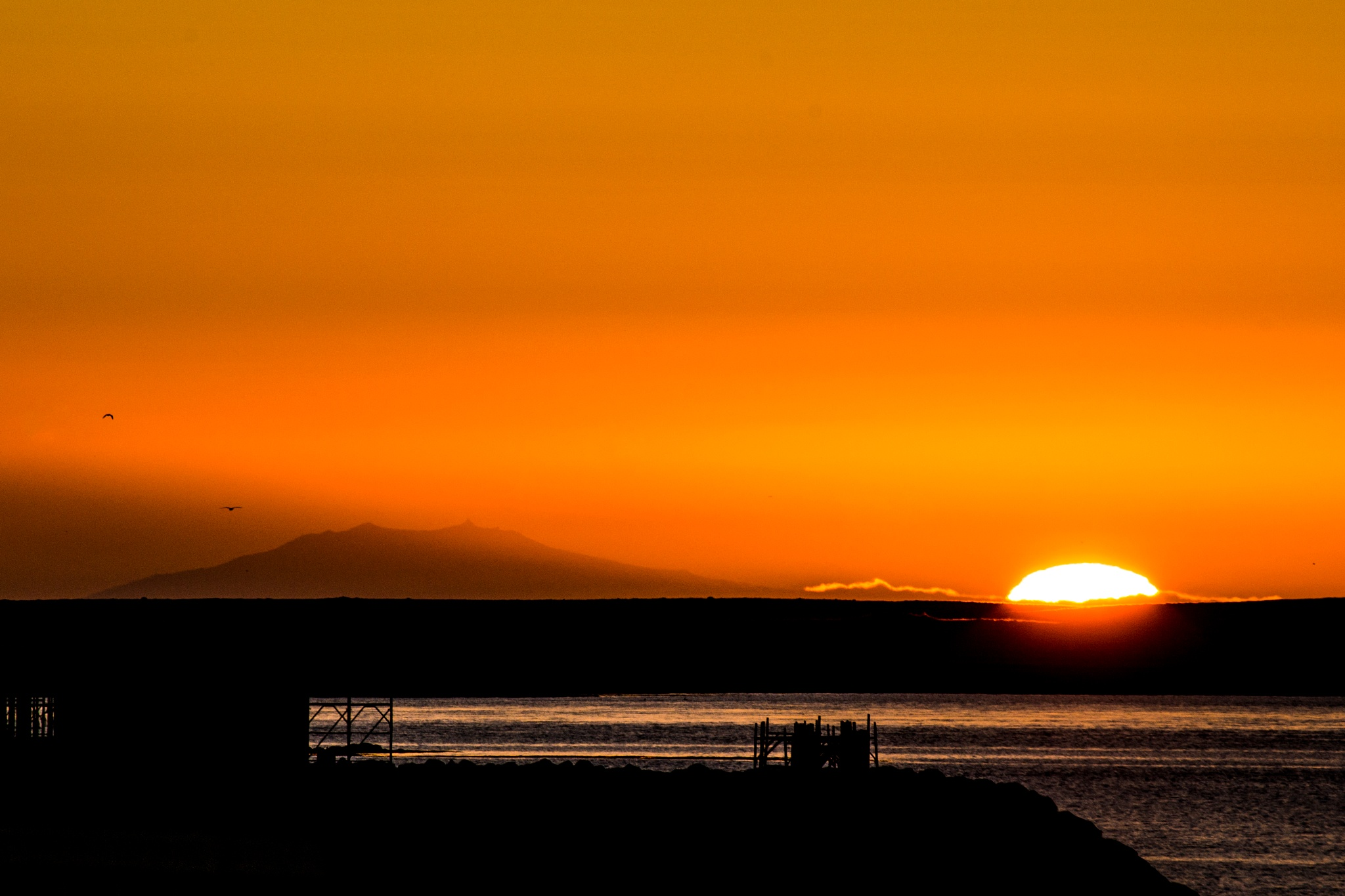 The sun is going to sleep by albert.o.gudbrandsson